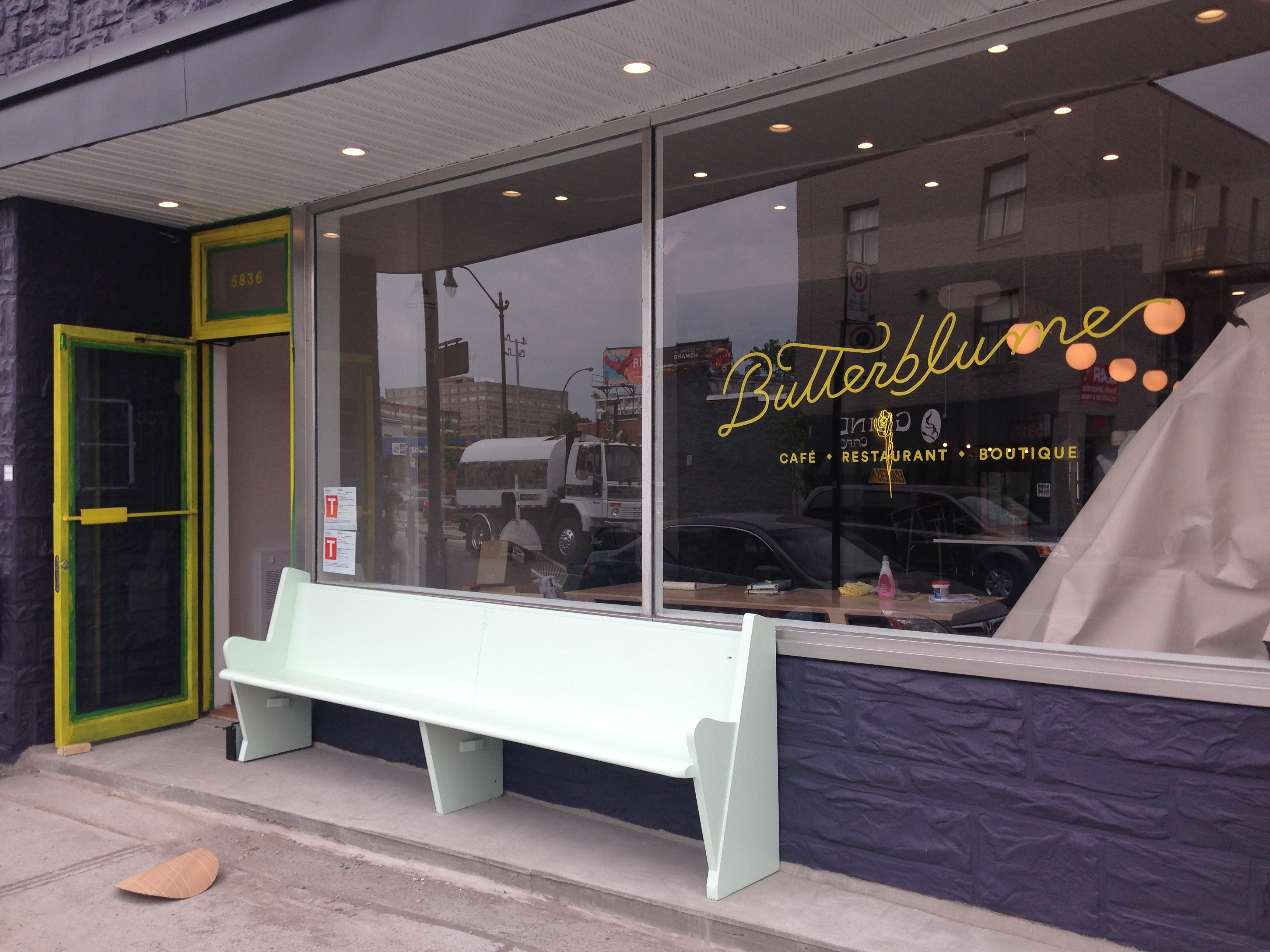 The soon-to-open Butterblume in Mile End