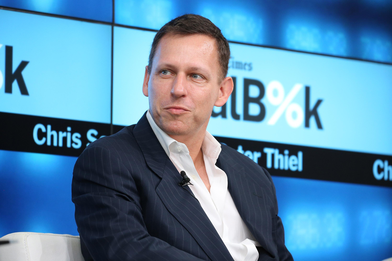 Sillicon Valley billionaire Peter Thiel.