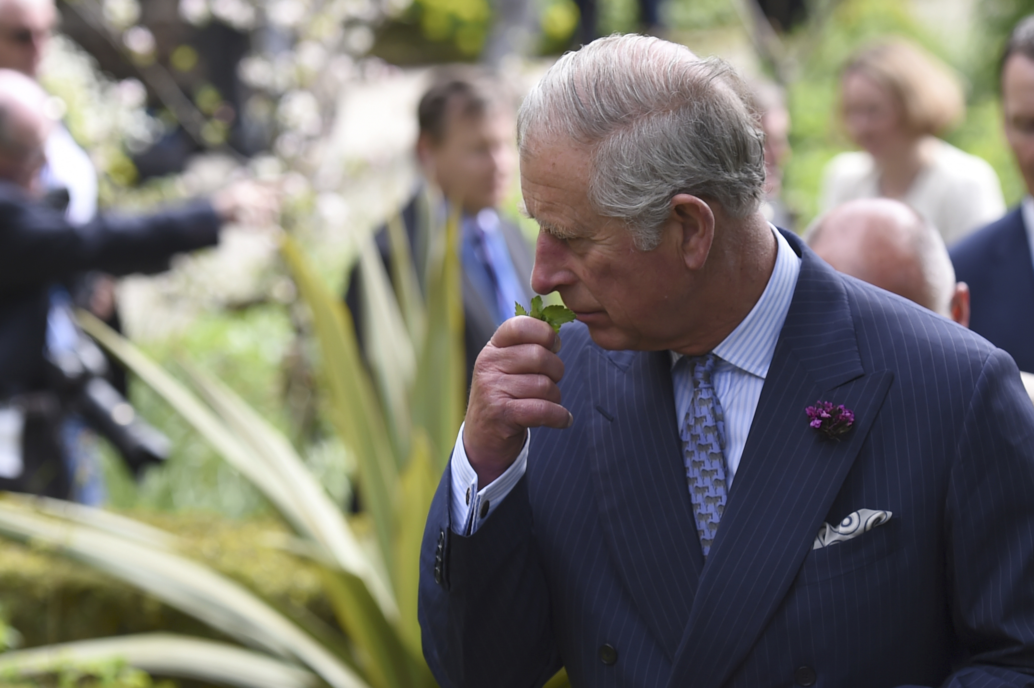 The Prince Of Wales And Duchess Of Cornwall Visit Ireland