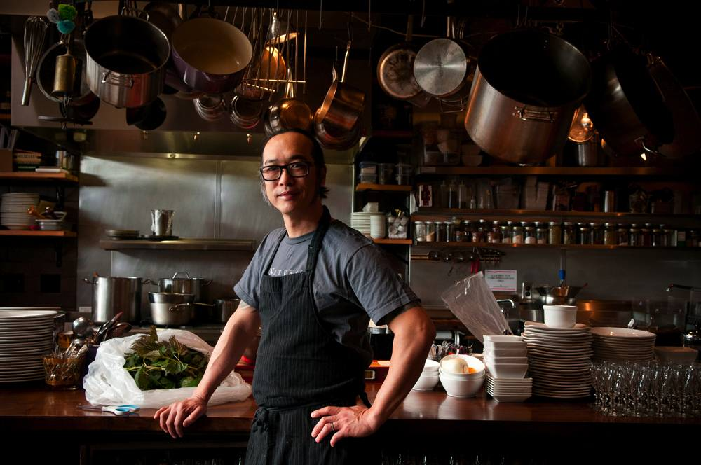 Chef Aaron Woo, owner of Natural Selection