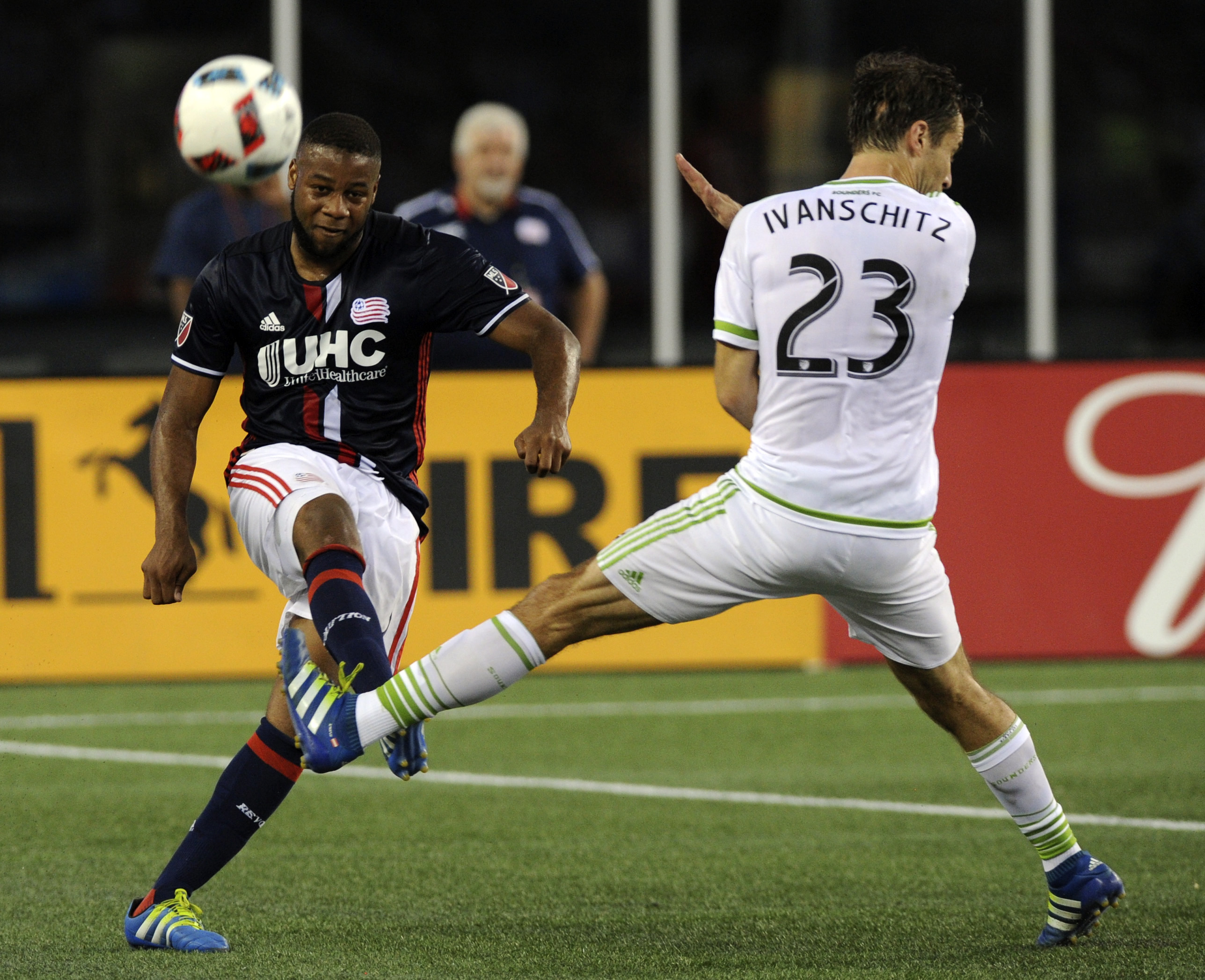 Against Seattle Sounders FC, Andrew Farrell started at right back for the first time in 2016.