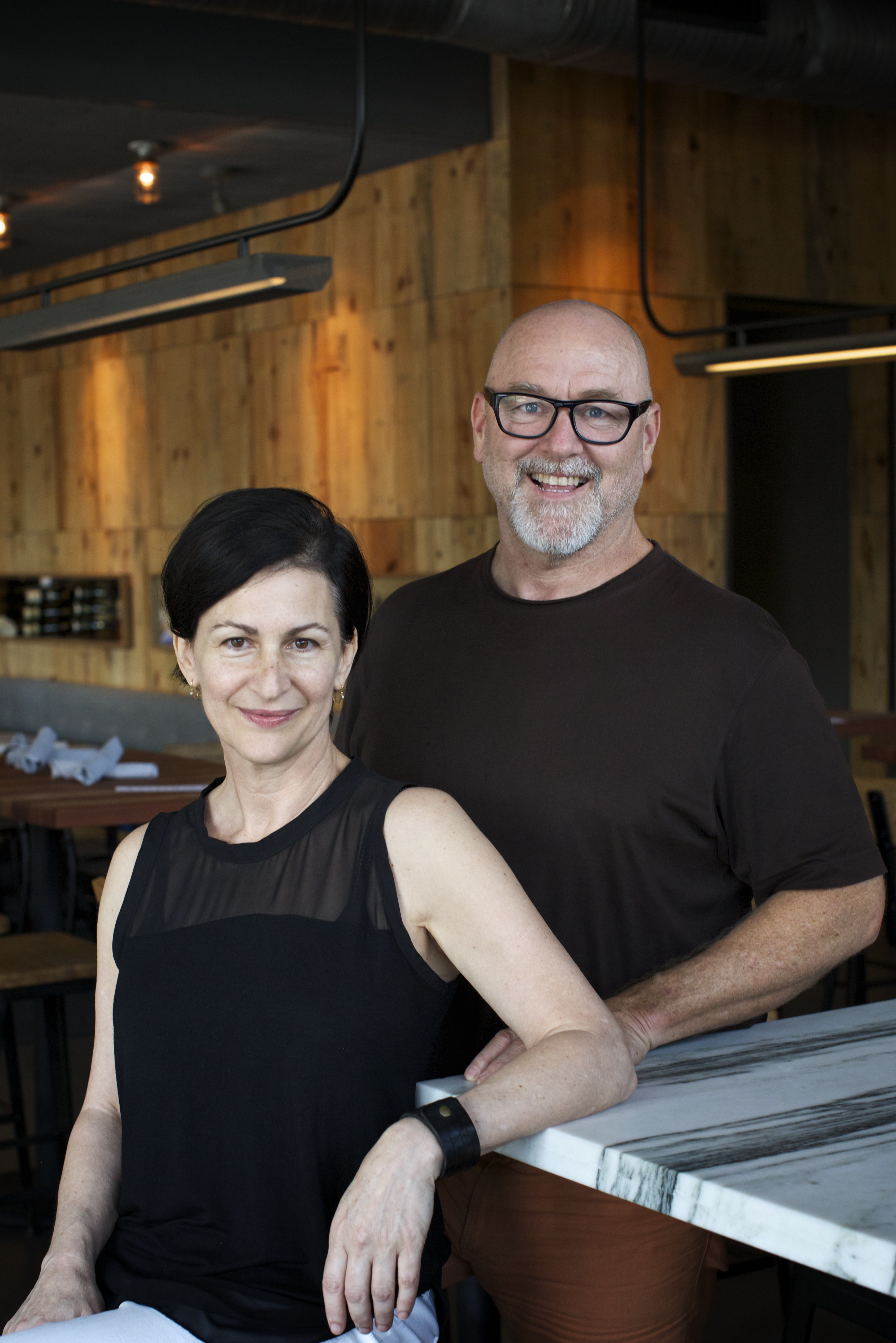 Lisa and Emmett Fox at Cantine