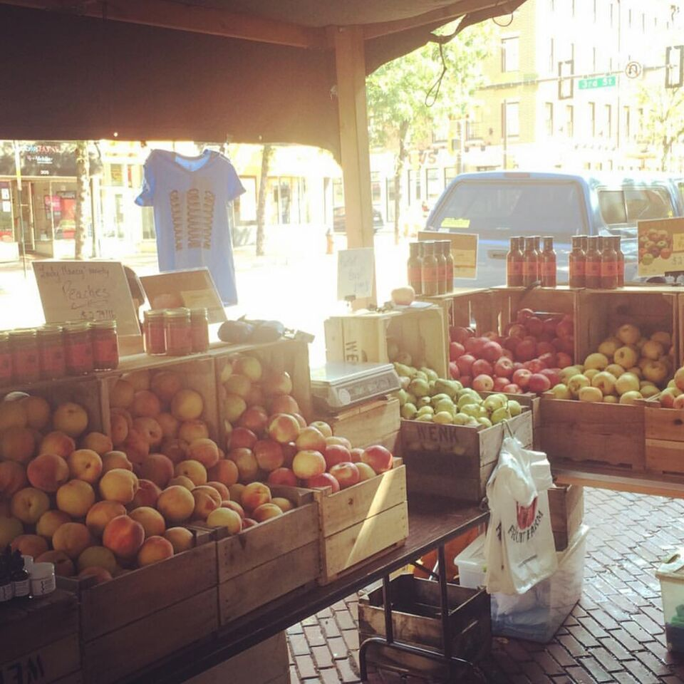 High Street Farmers Market 2015