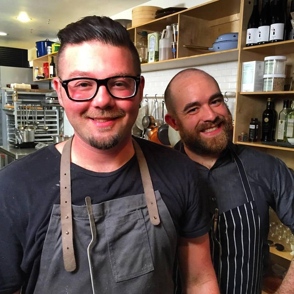 Javier Canteras (left) and Ryan Spragg (right)