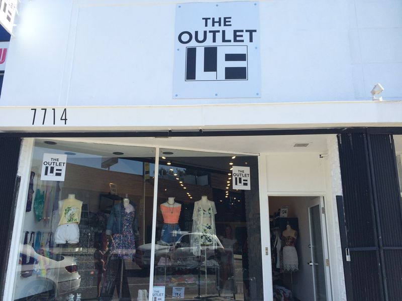 LF Outlet's Melrose outpost.