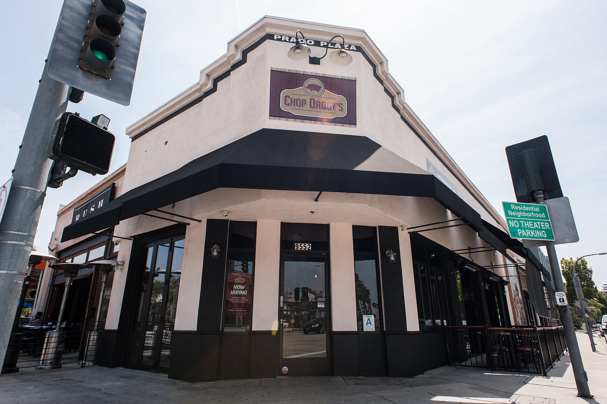 The former Chop Daddy's, Culver City