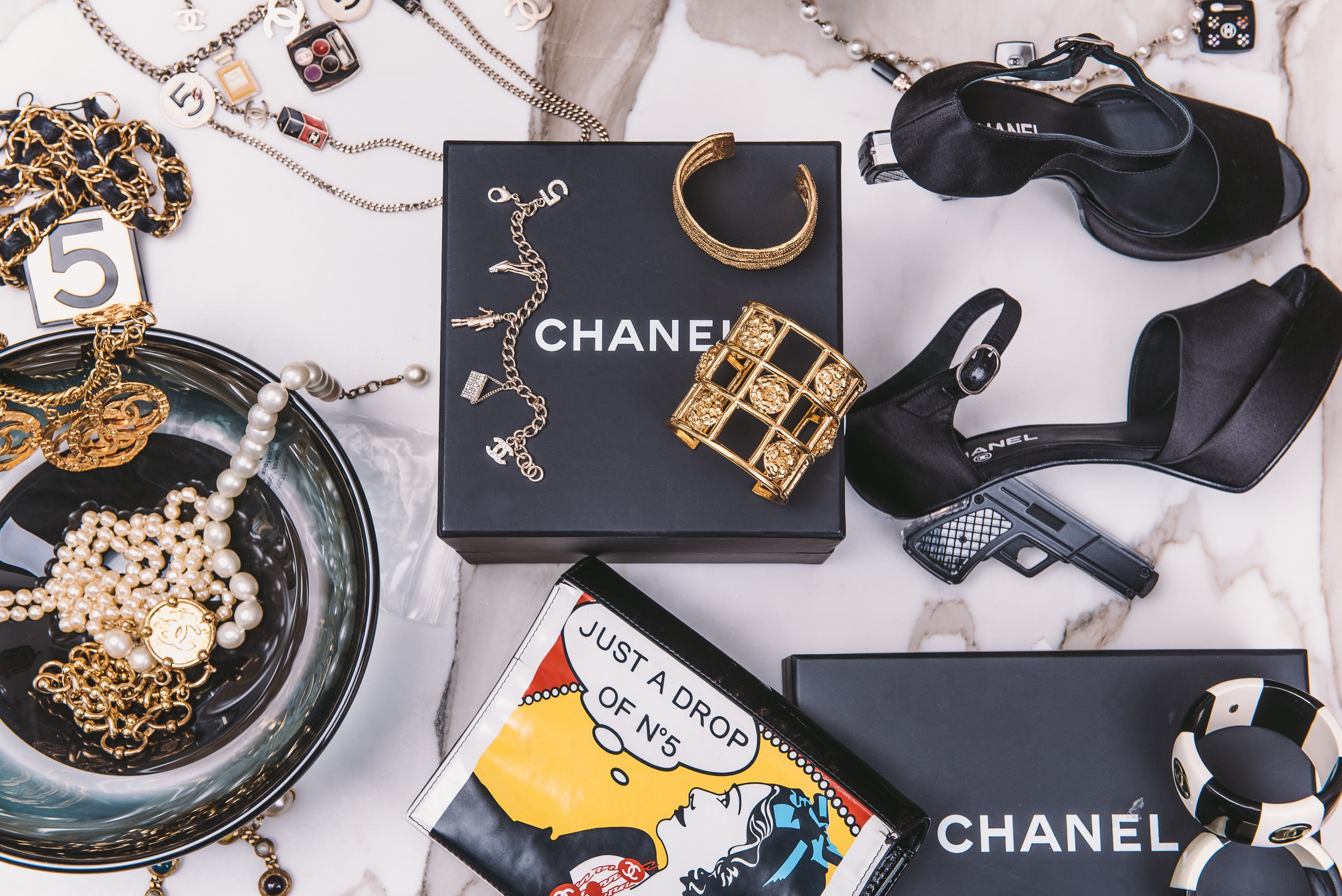 30bb6a2ff4 This Consignment Shop Has the Largest Collection of Vintage Chanel in the  U.S.