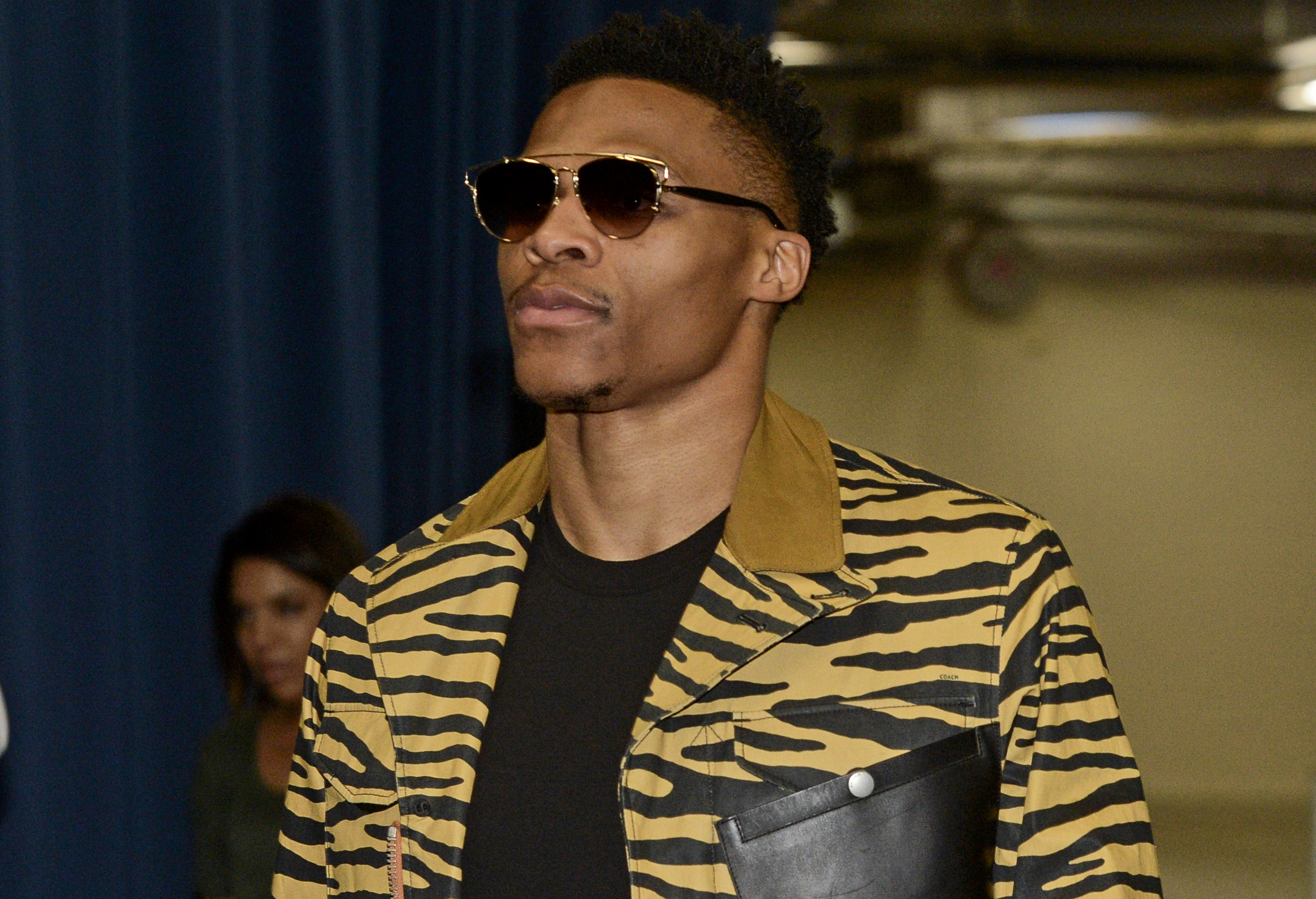 """The flashy Russell Westbrook isn't a fan of """"the force."""""""
