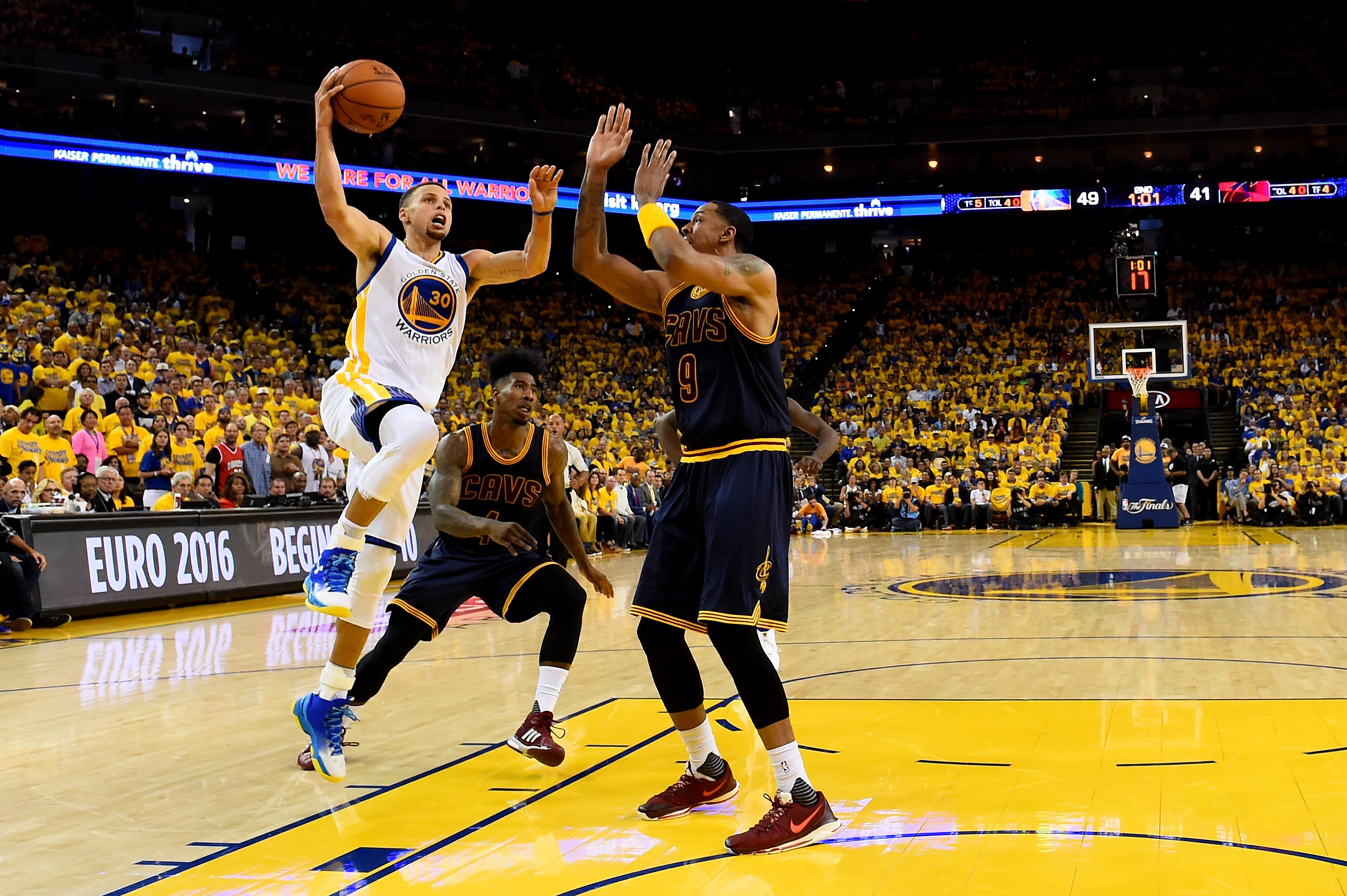 In stopping the Splash Brothers, the Cavaliers forgot the basics