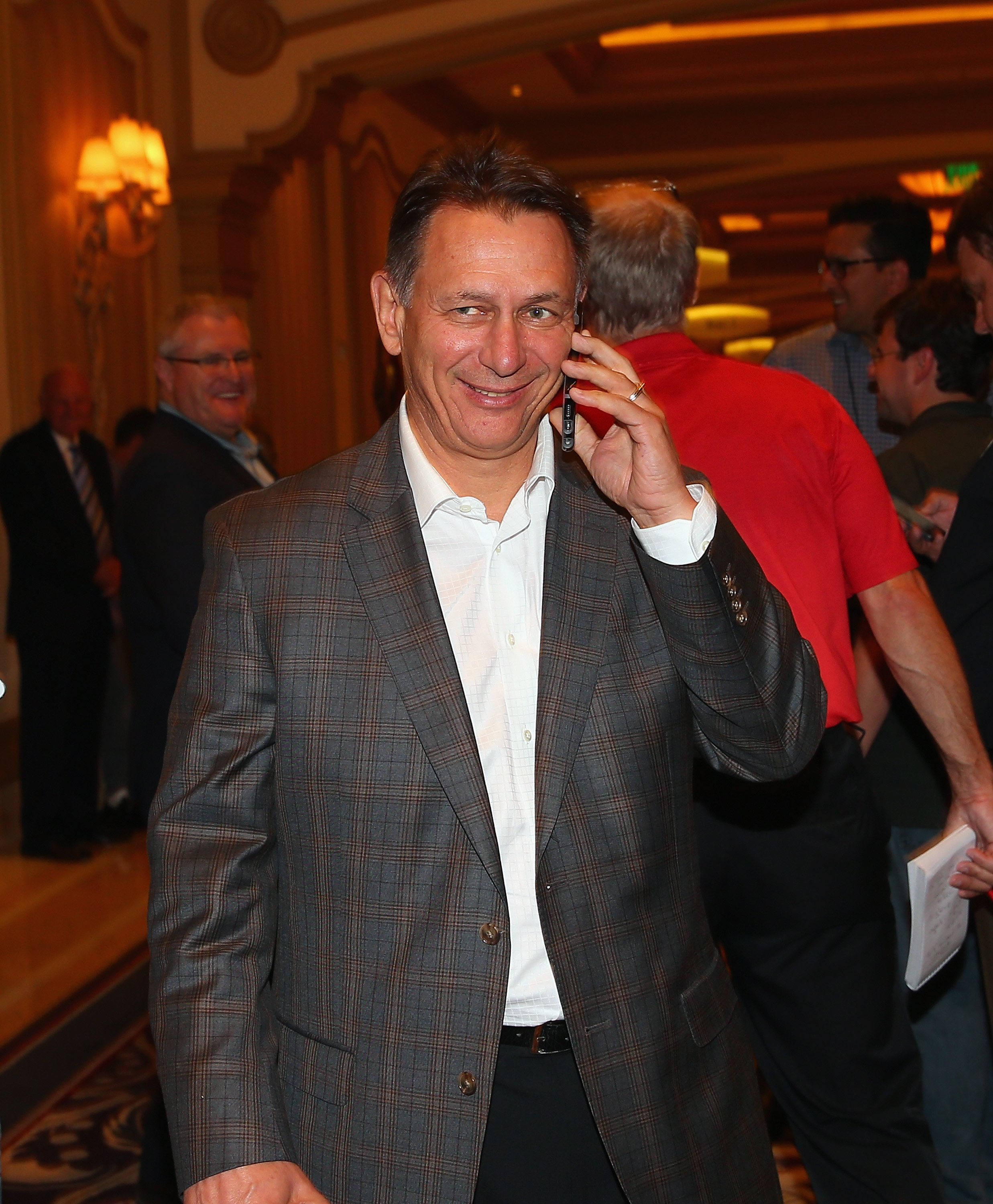 Red Wings GM Ken Holland is doing some shopping...