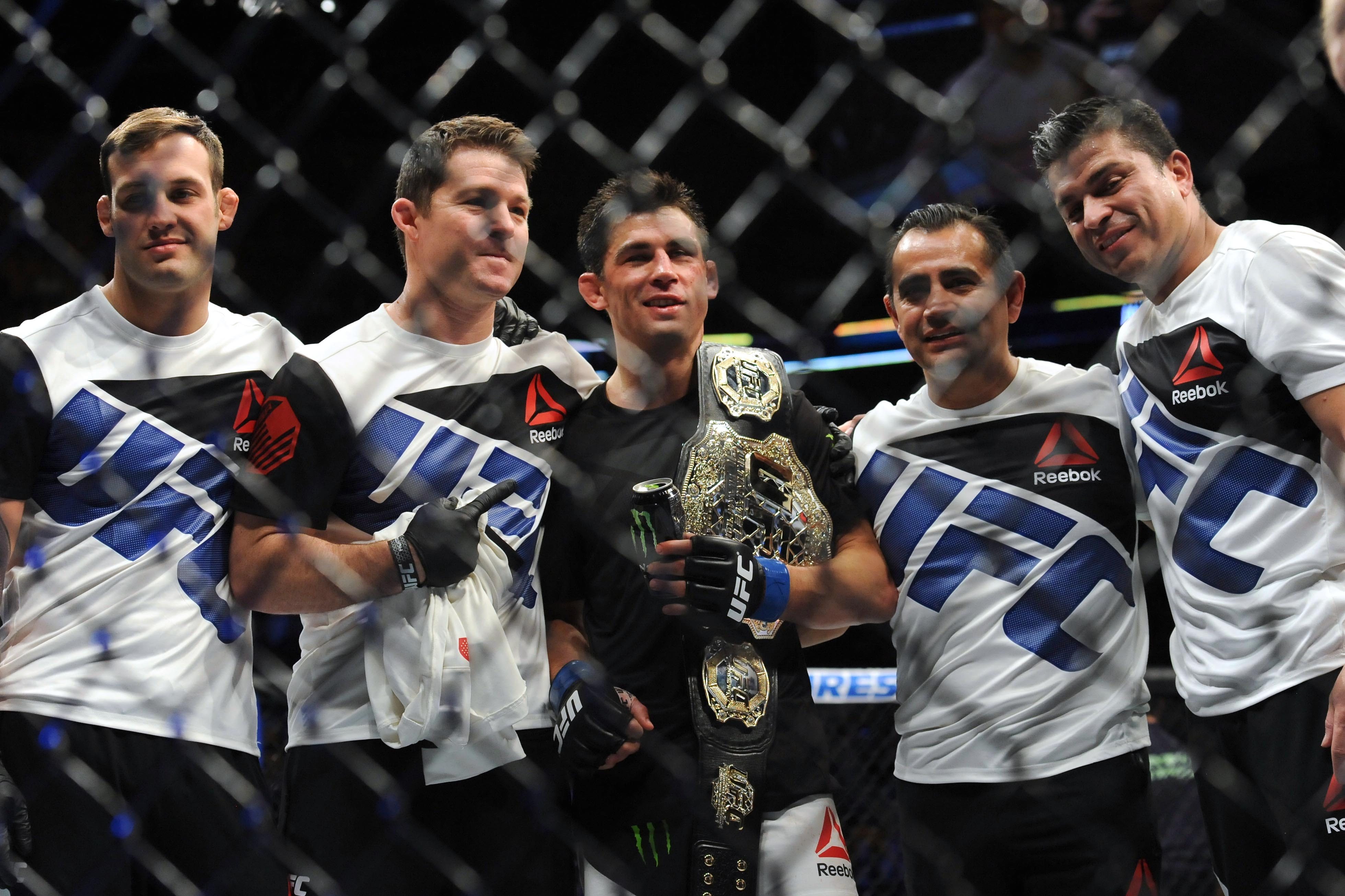 MMA: UFC Fight Night-Dillashaw vs Cruz