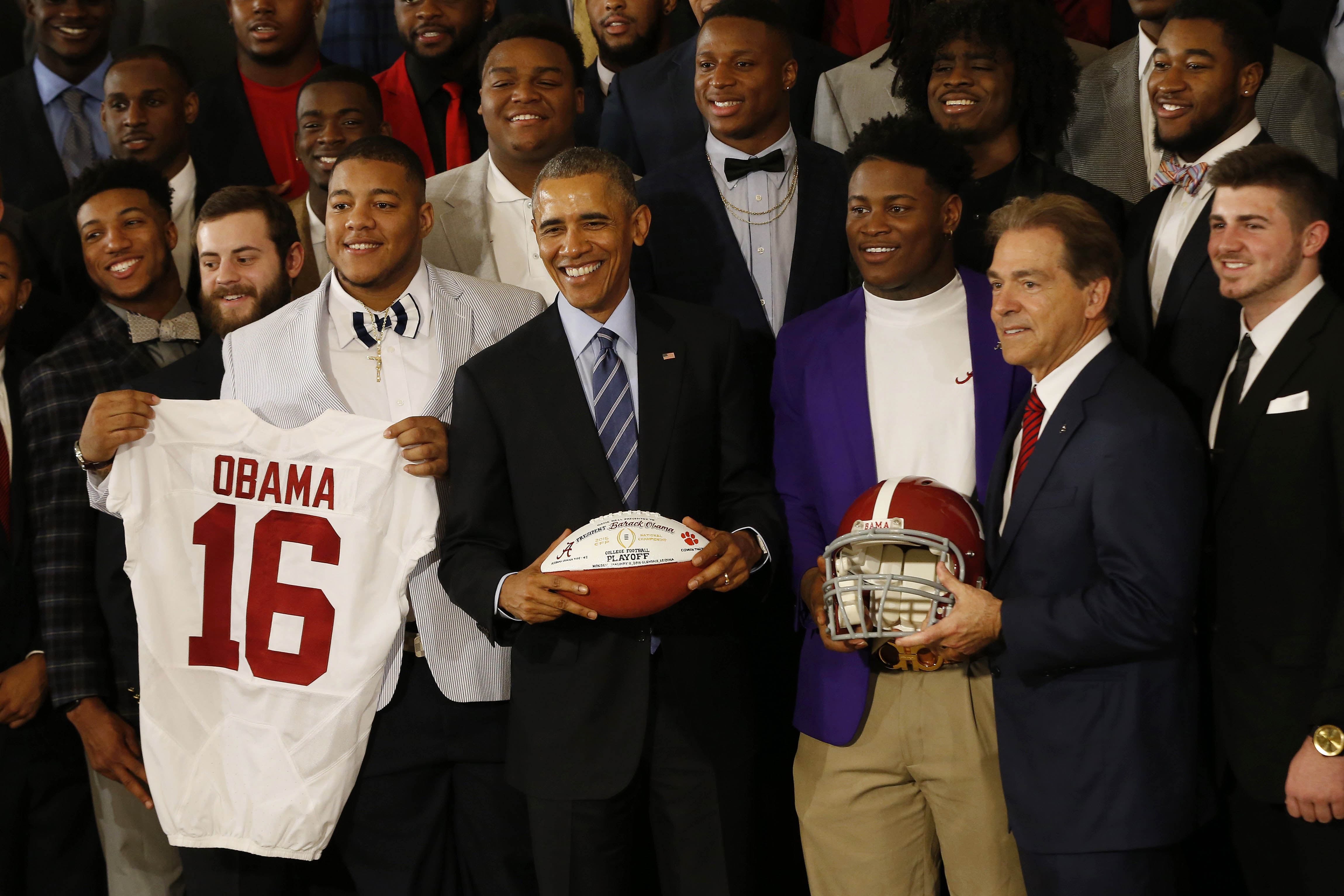 Another Alabama title? THANKS OBAMA