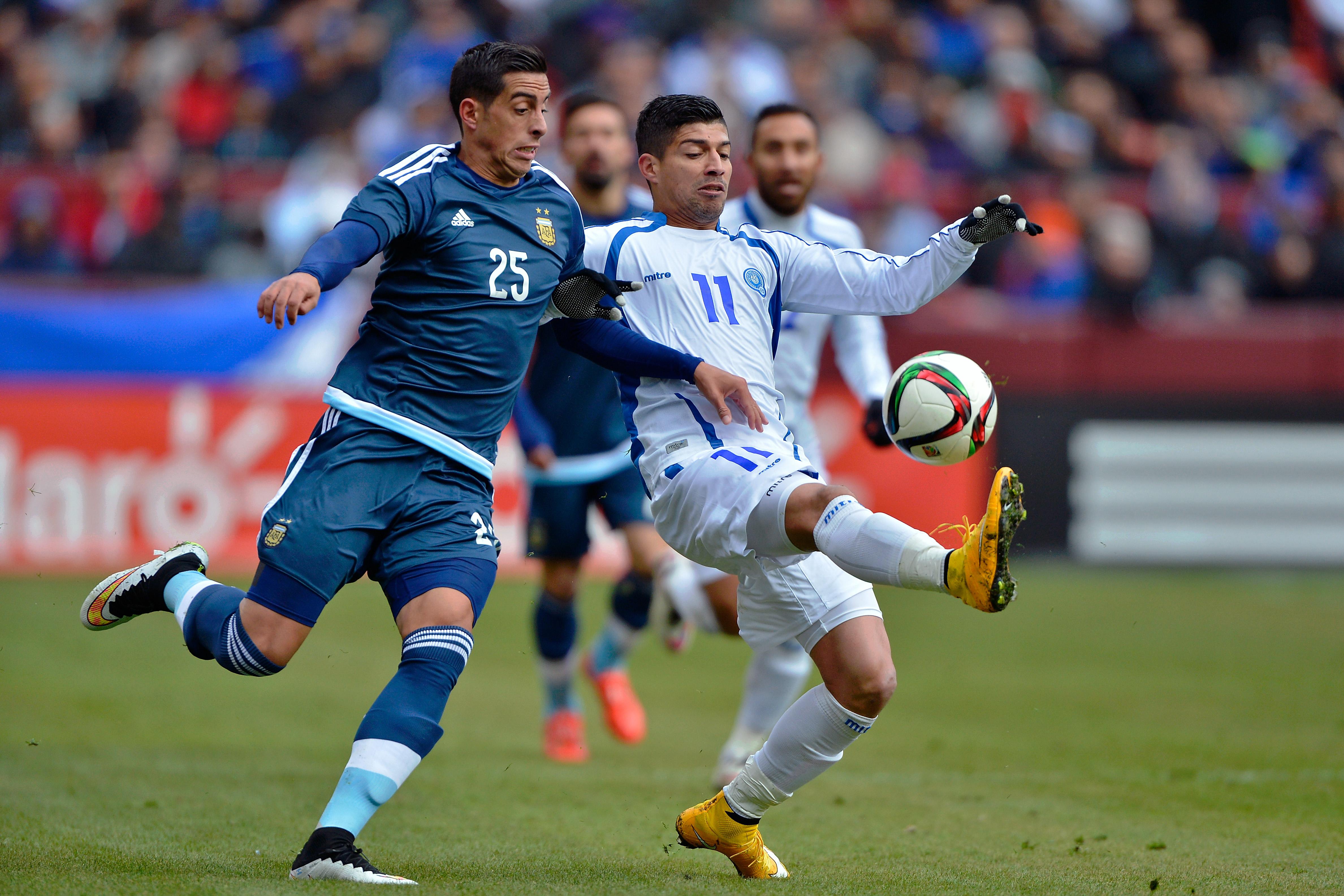 Soccer: Argentina vs El Salvador