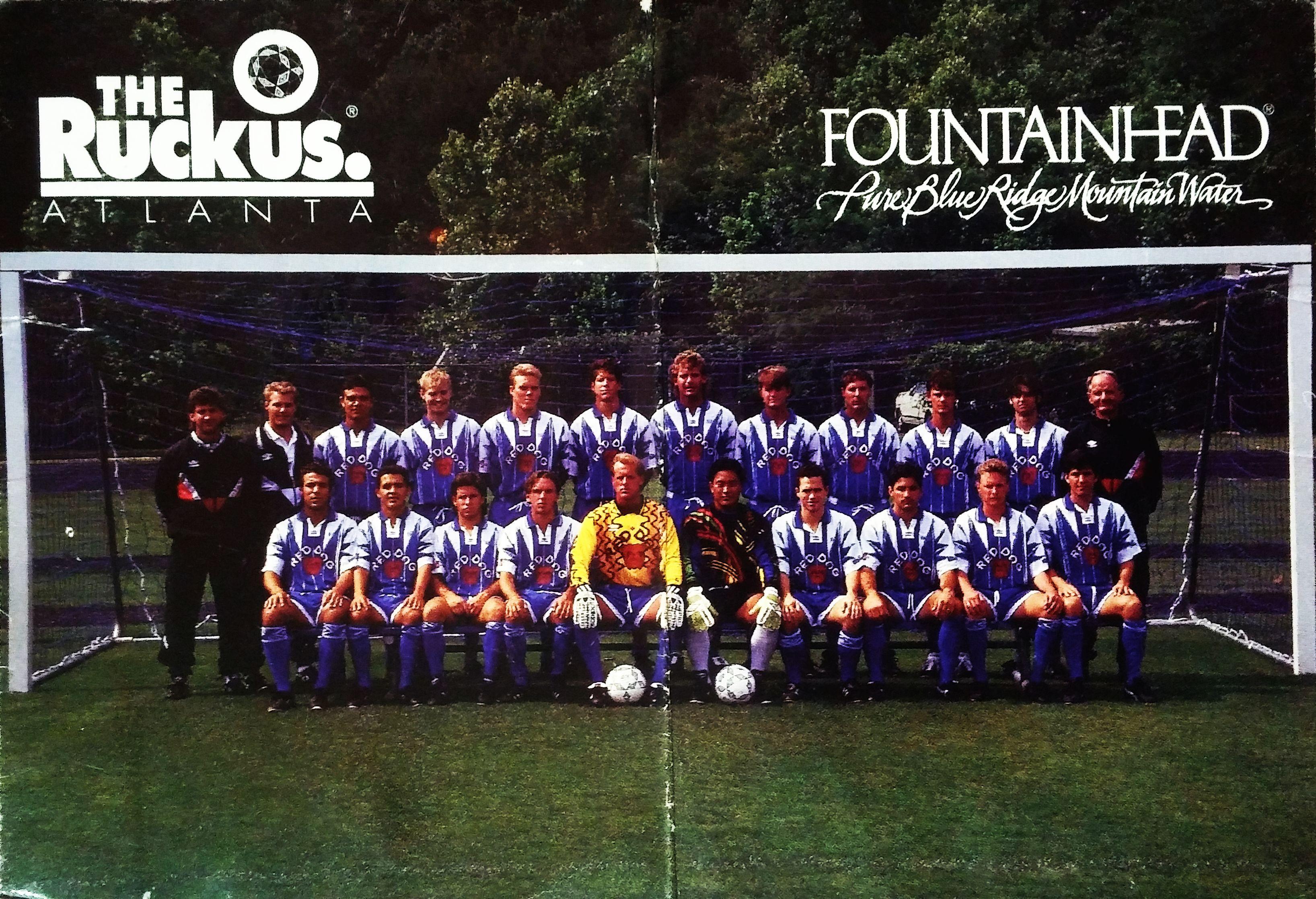 1995 Atlanta Ruckus team picture