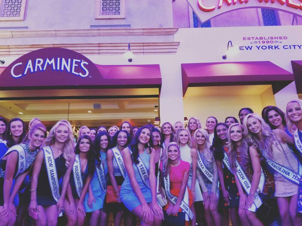 Miss Teen USA contestants