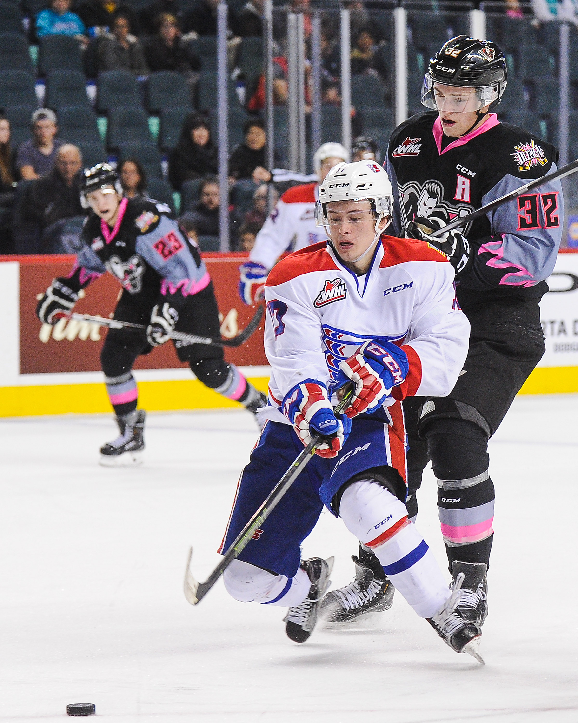 Kailer Yamamoto leads the way for the Chiefs and coudl very well contend for the WHL scoring title