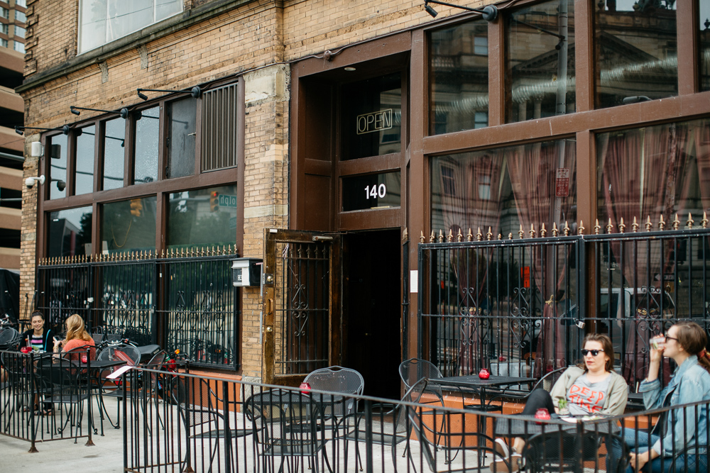 The Keep's former patio area will begin operating as a seasonal bar space on Wednesday.