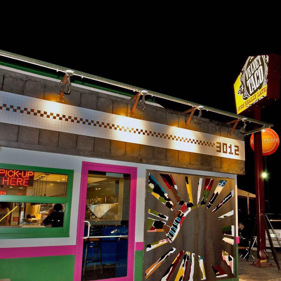 Velvet Taco keeps the doors open until 5 a.m. on the weekends