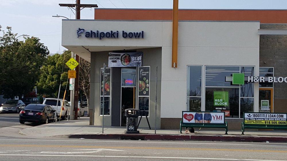 AhiPoki Bowl, Hollywood