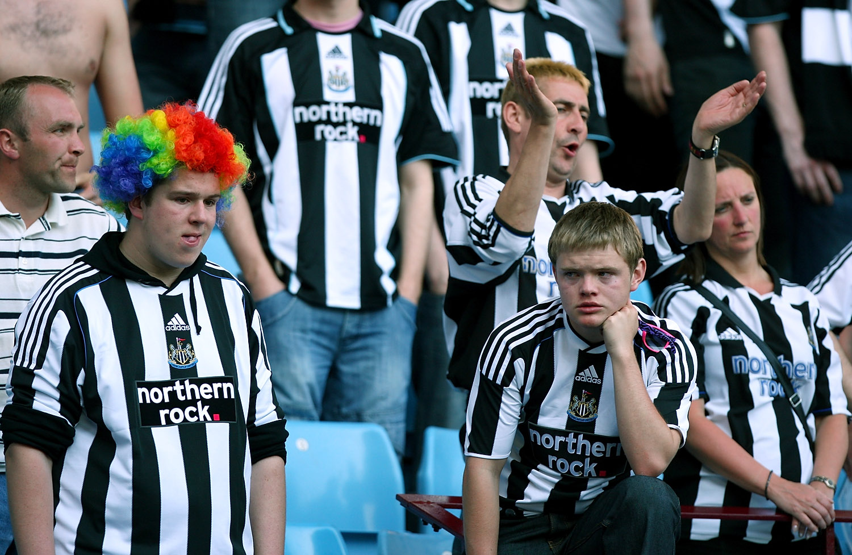 Sad Newcastle fans are sad.