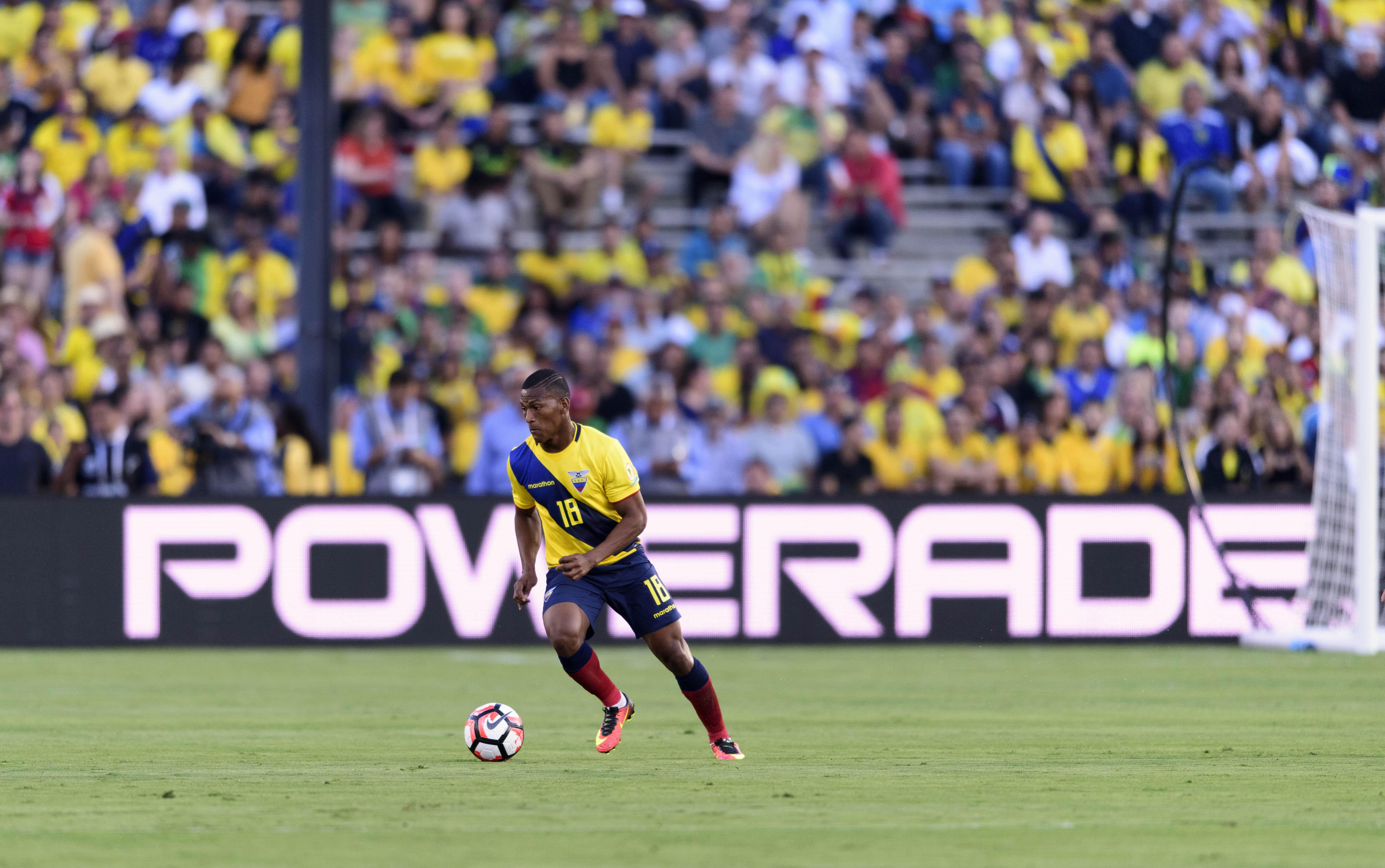 Soccer: 2016 Copa America Centenario-Ecuador  at Brazil