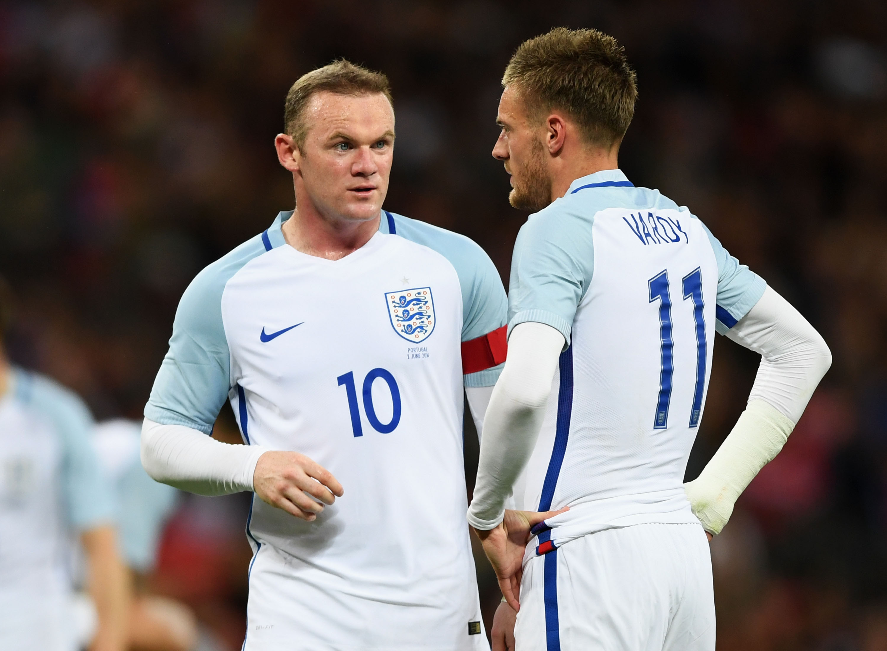 Who will start up front for England tomorrow? These two are amongst the obvious candidates.