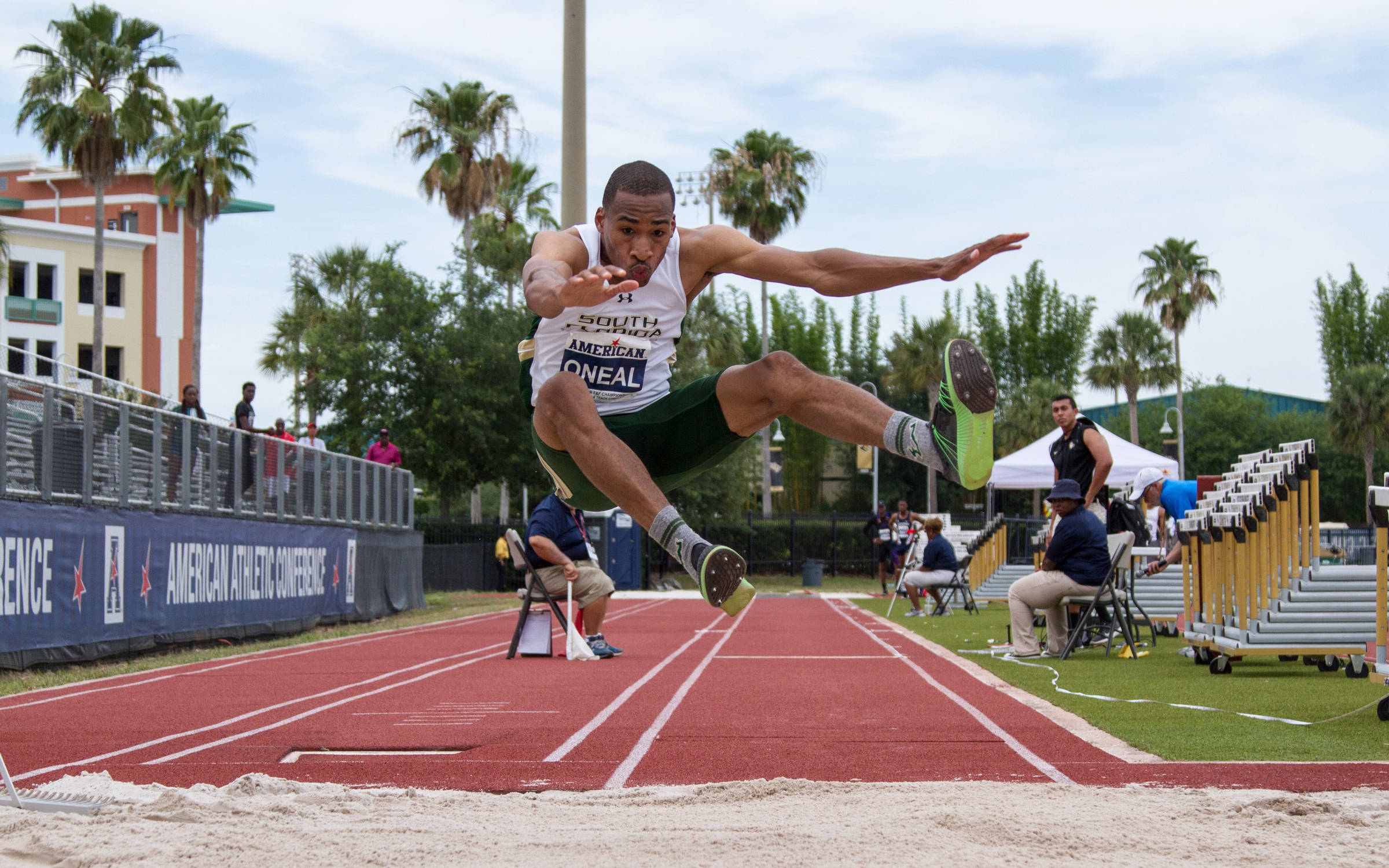 Matthew O'Neal capped off an amazing career with a third place finish at the NCAA Outdoor Championships.