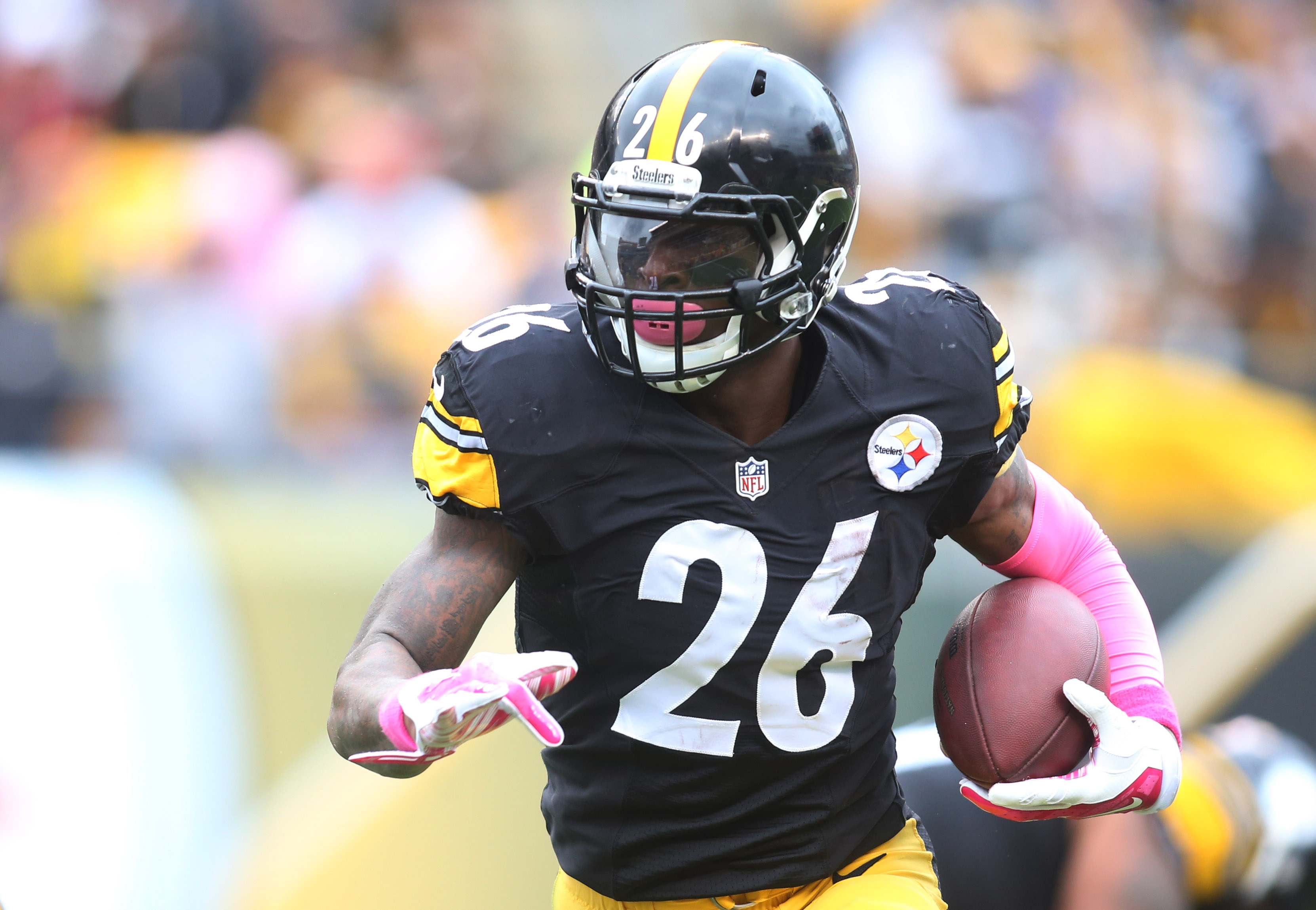 Le'Veon Bell says he will be 100% healthy for training camp after a season-ending knee injury in 2015