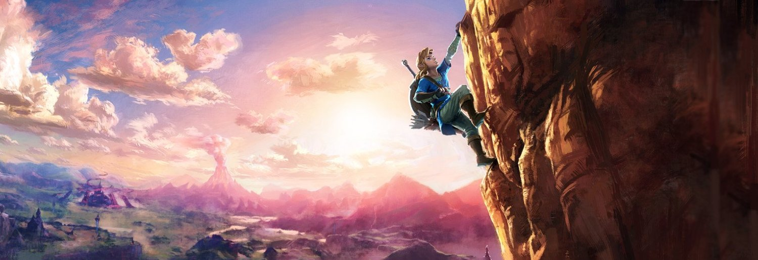Here's some gorgeous artwork from the new Zelda game