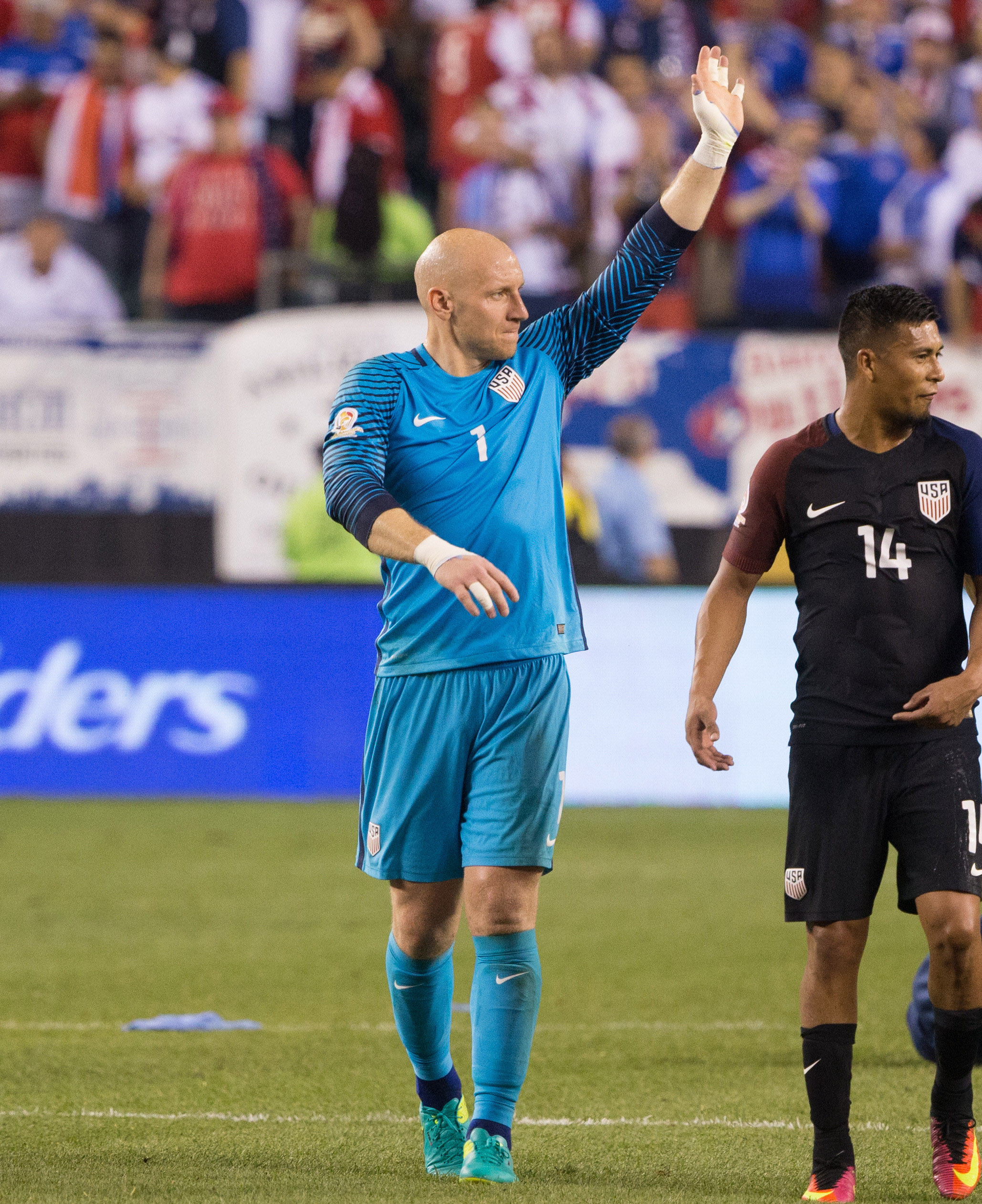 Two clean sheets in the Copa group stage! Well done, Mr. Guzan!