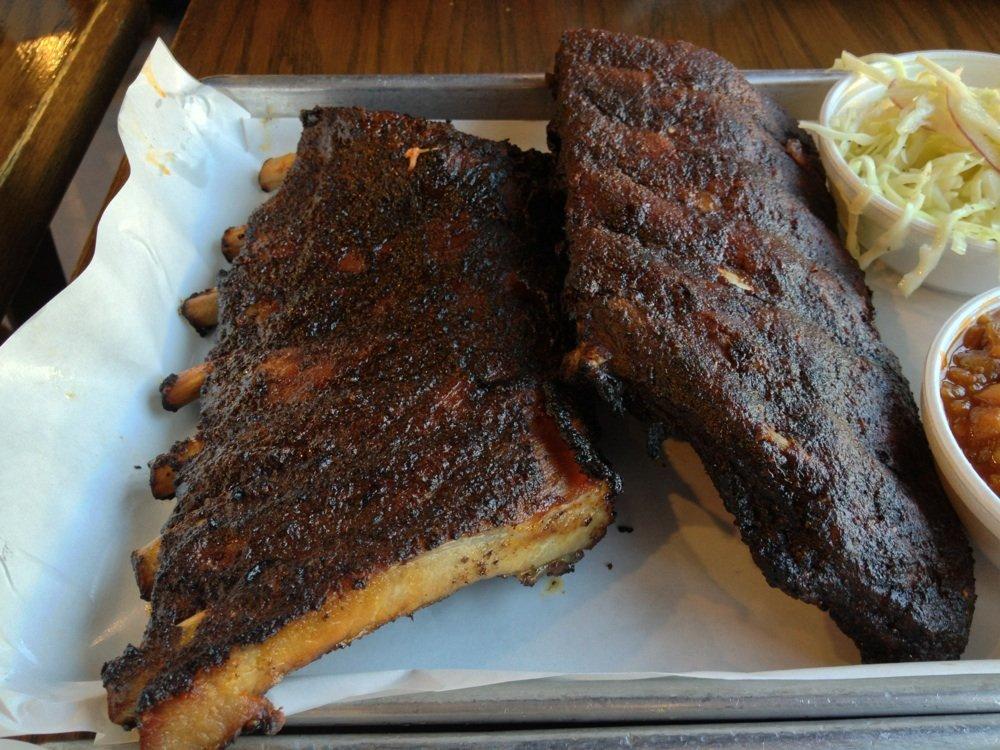 Smoque's St. Louis ribs