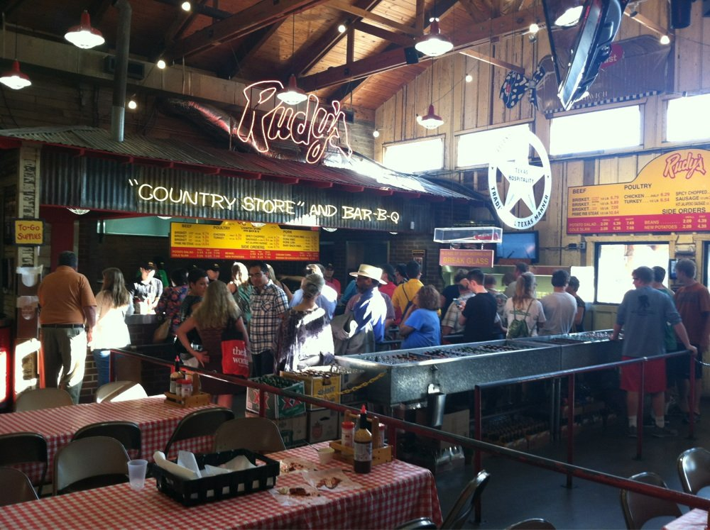 Rudy's Country Store & Bar-B-Q on Research Boulevard