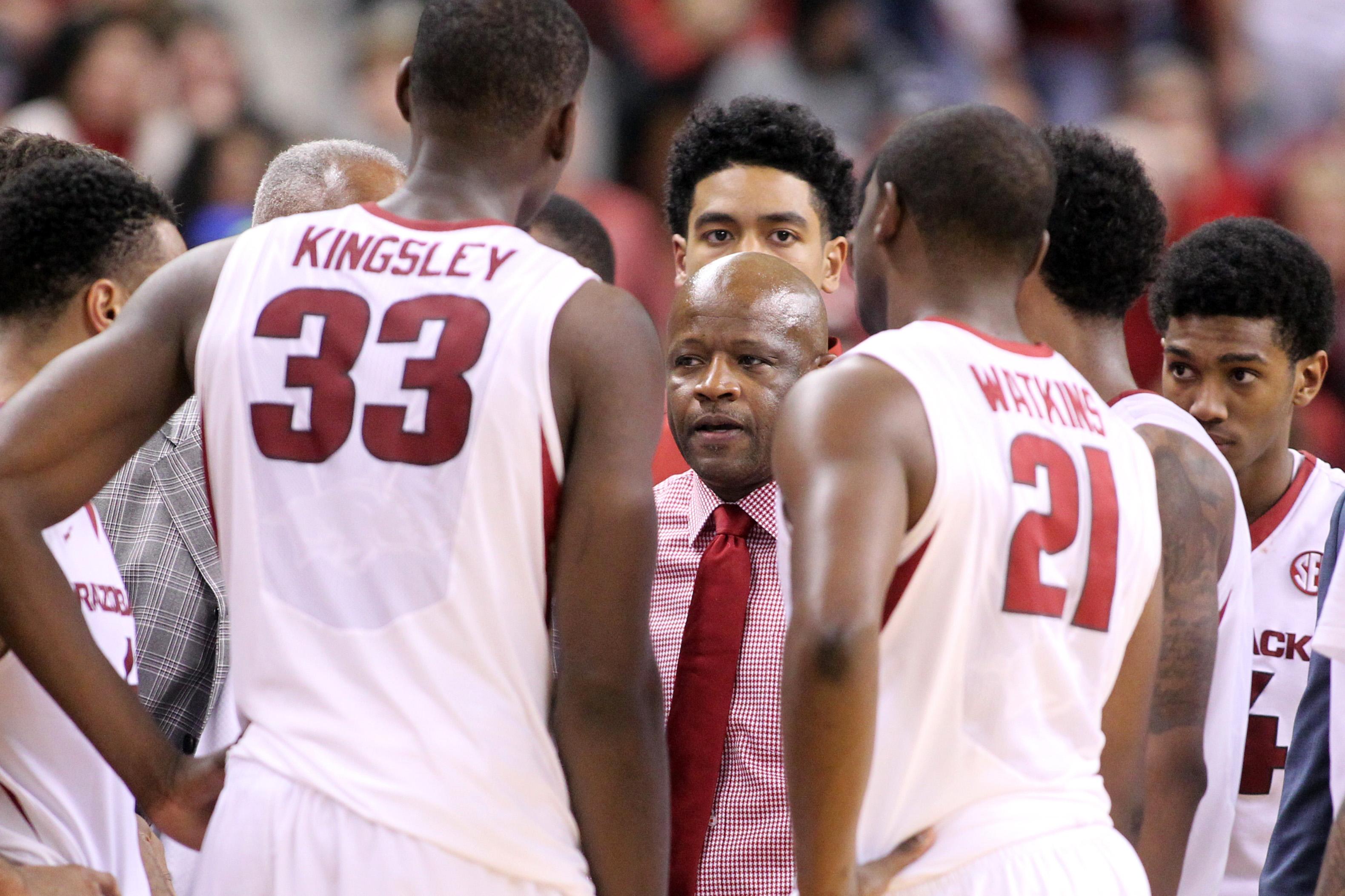 NCAA Basketball: Mercer at Arkansas