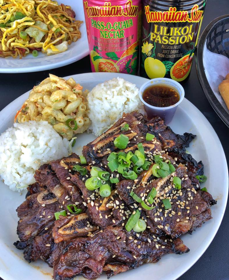 Hawaiian barbecue at Aloha Kitchen