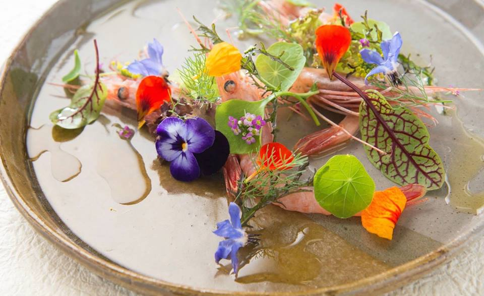 A dish on the menu at Narisawa in Tokyo, ranked the 8th best restaurant in the world.