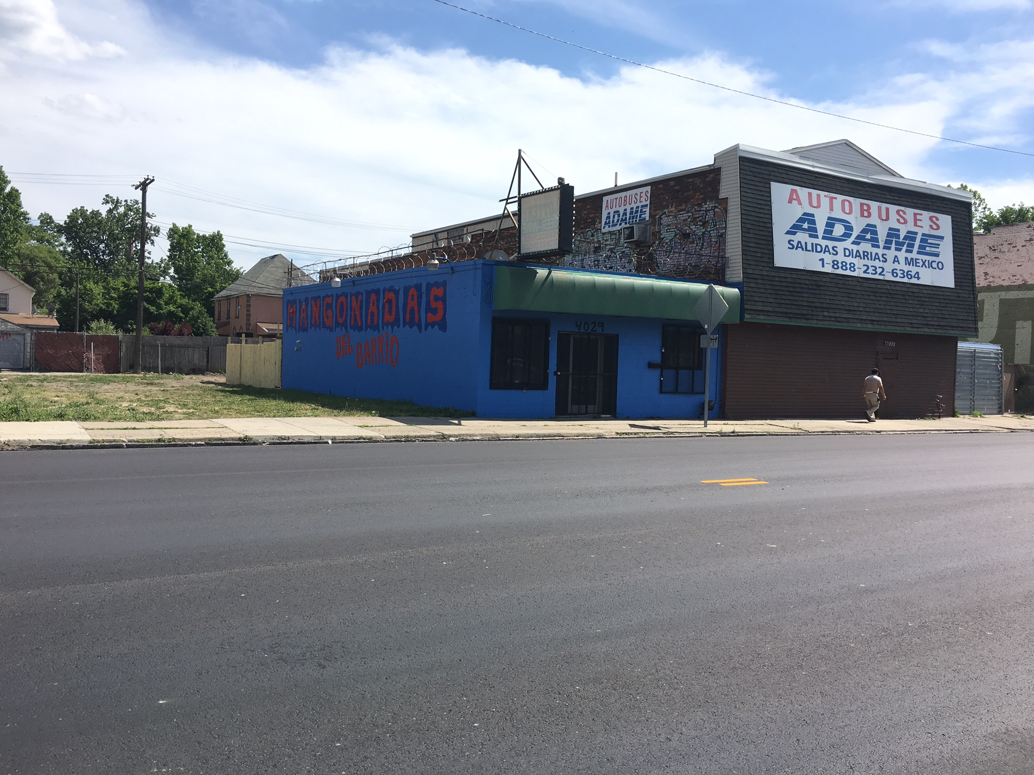 Mangonadas Del Barrio's second location is located on Vernor Highway in Mexicantown.