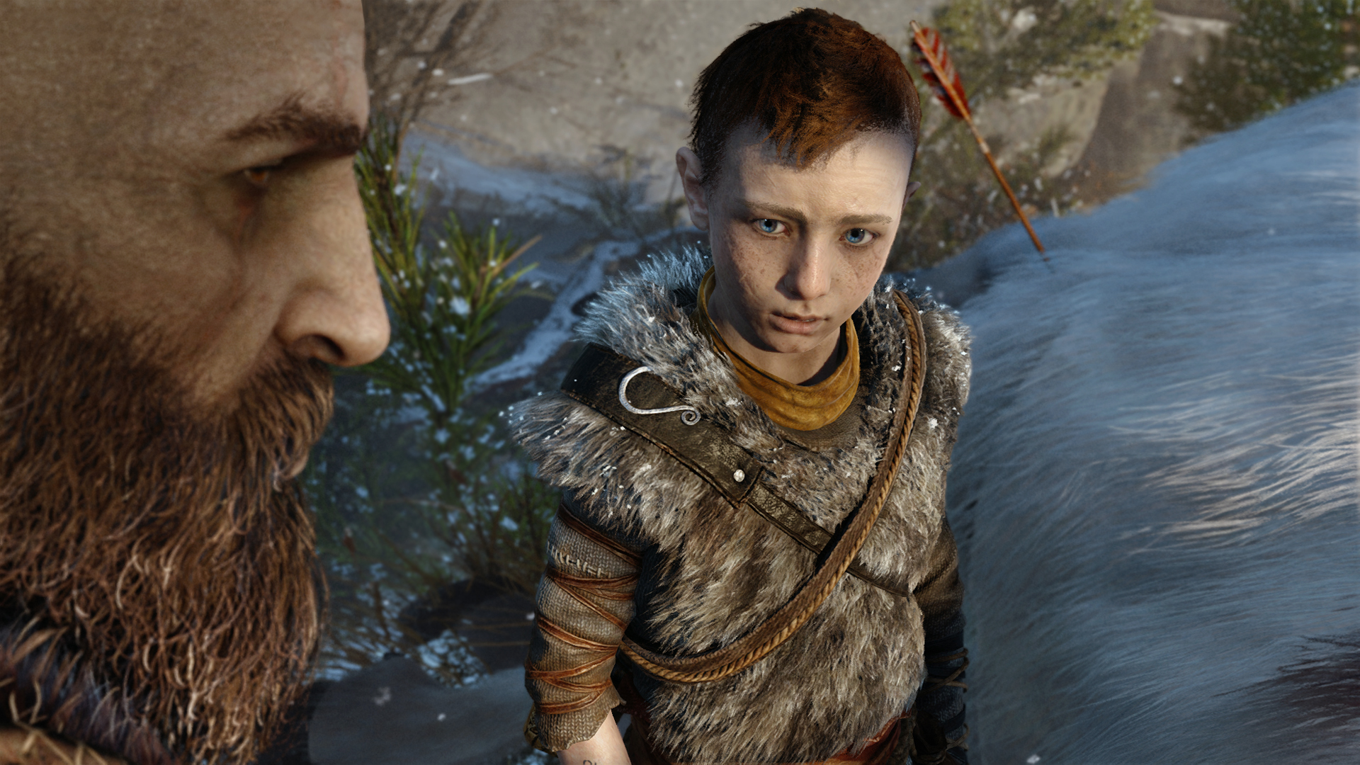God of War is the story of a dad who can't stop screwing up