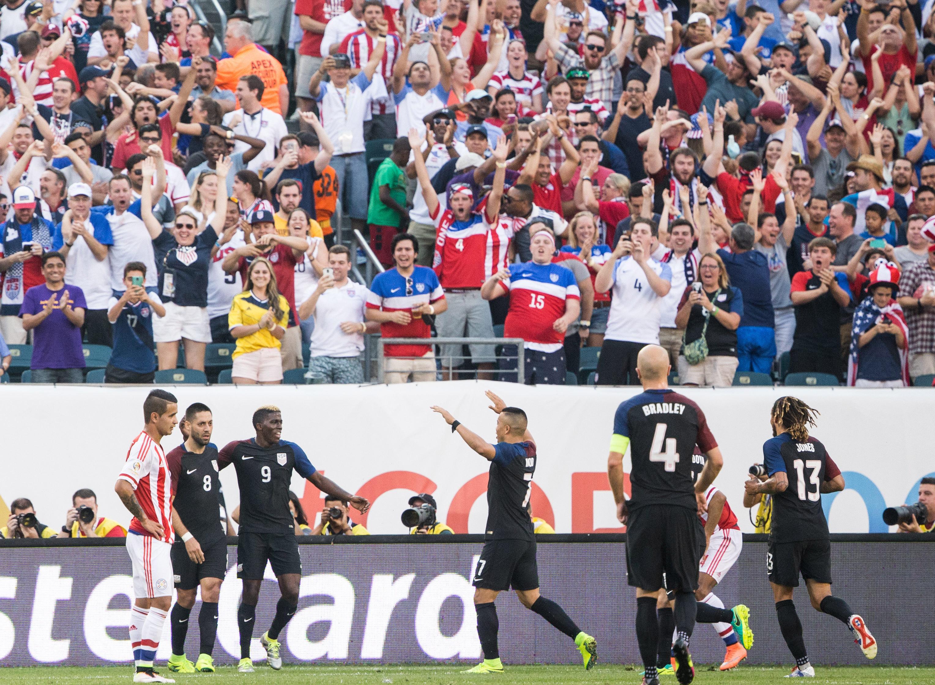 Soccer: 2016 Copa America Centenario-Paraguay at USA