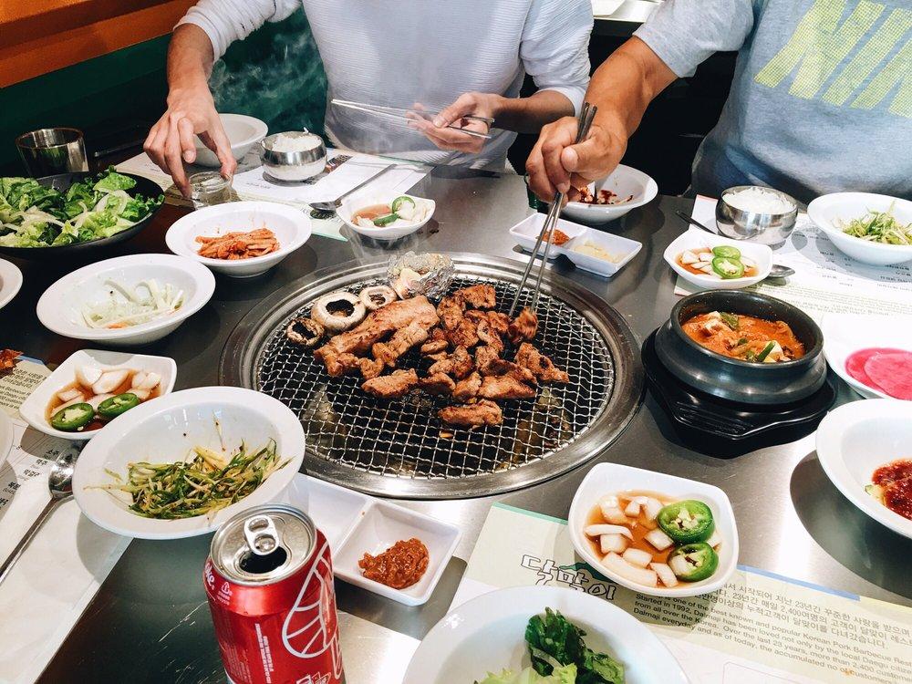 Korean barbecue at Dalmaji
