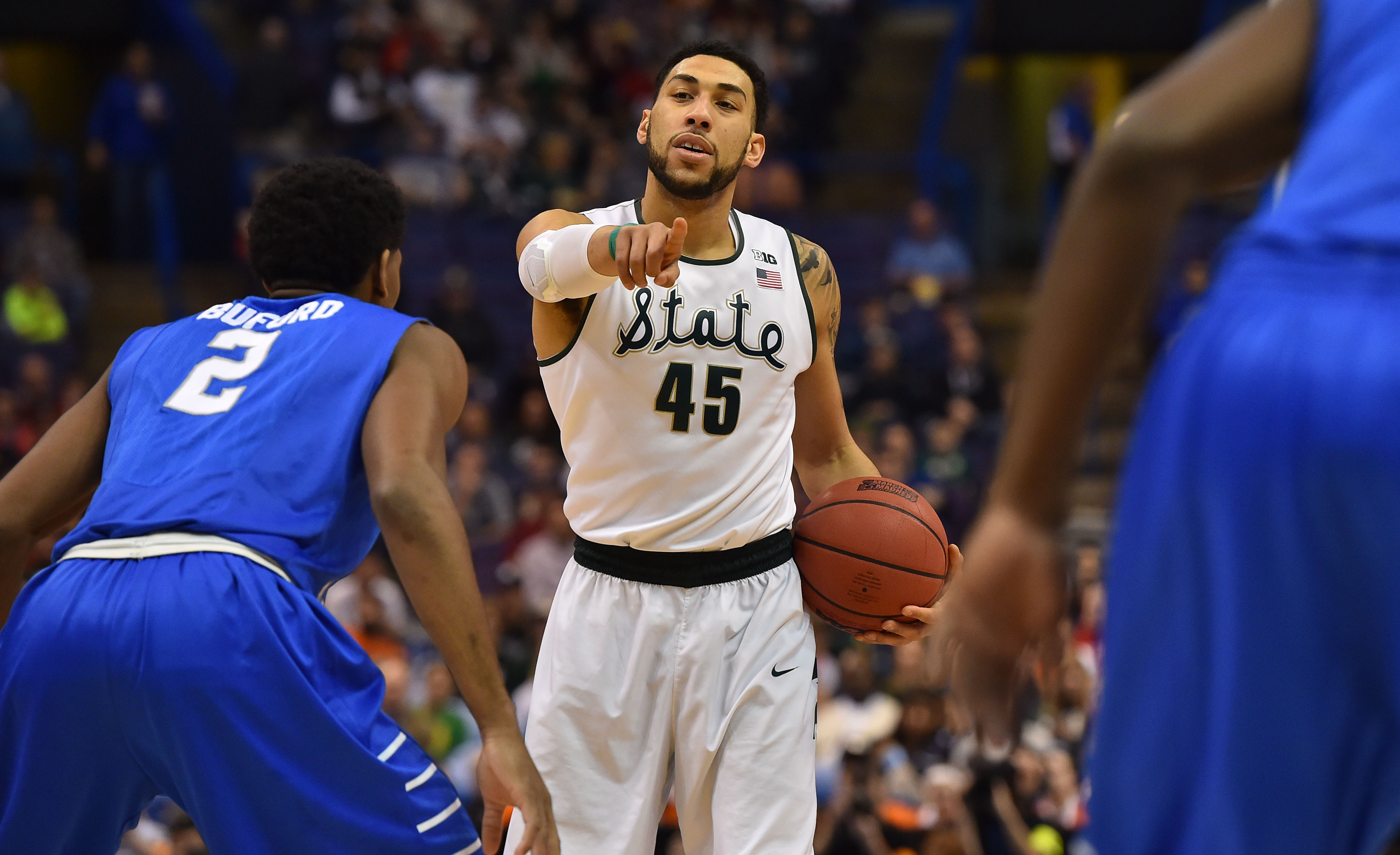 Denzel valentine was an unquestioned leader while at Michigan State