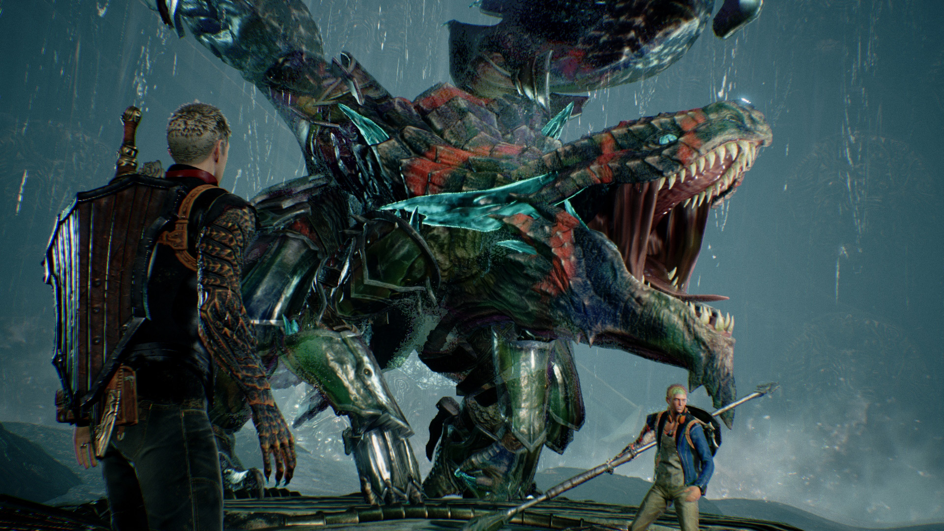 PlatinumGames' Scalebound supports co-op multiplayer from start to finish