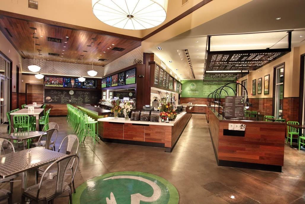 Wahlburgers location in Hingham, Mass.