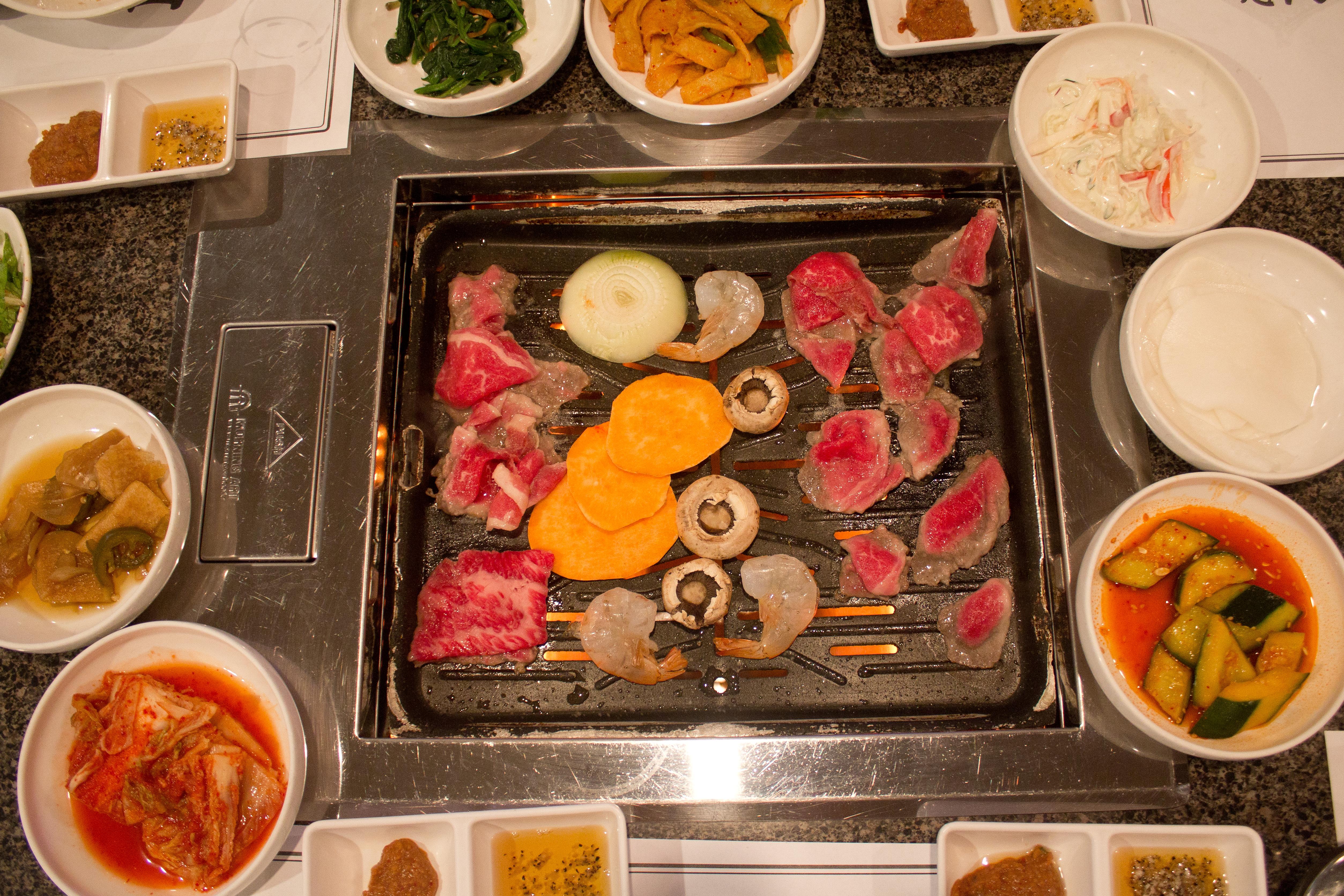 Chosun Galbi's barbecue