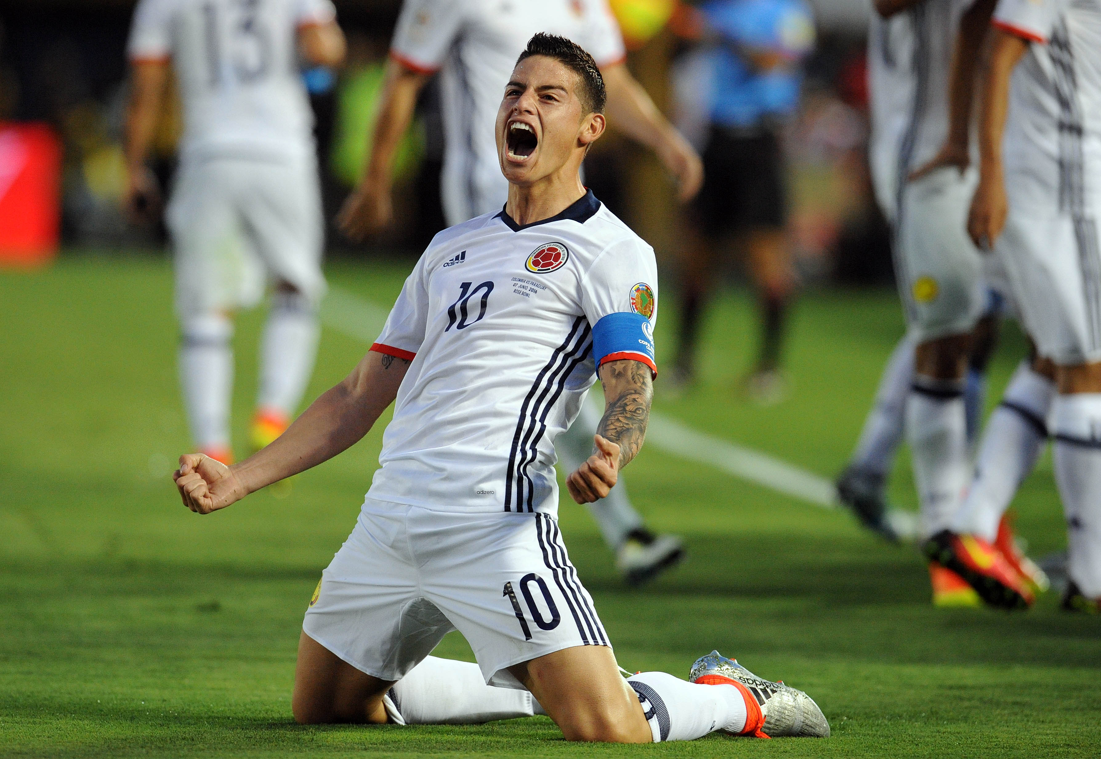 Jaimz or Hai-mez, say it how you like. But watch for James Rodriguez to be the key to the match.