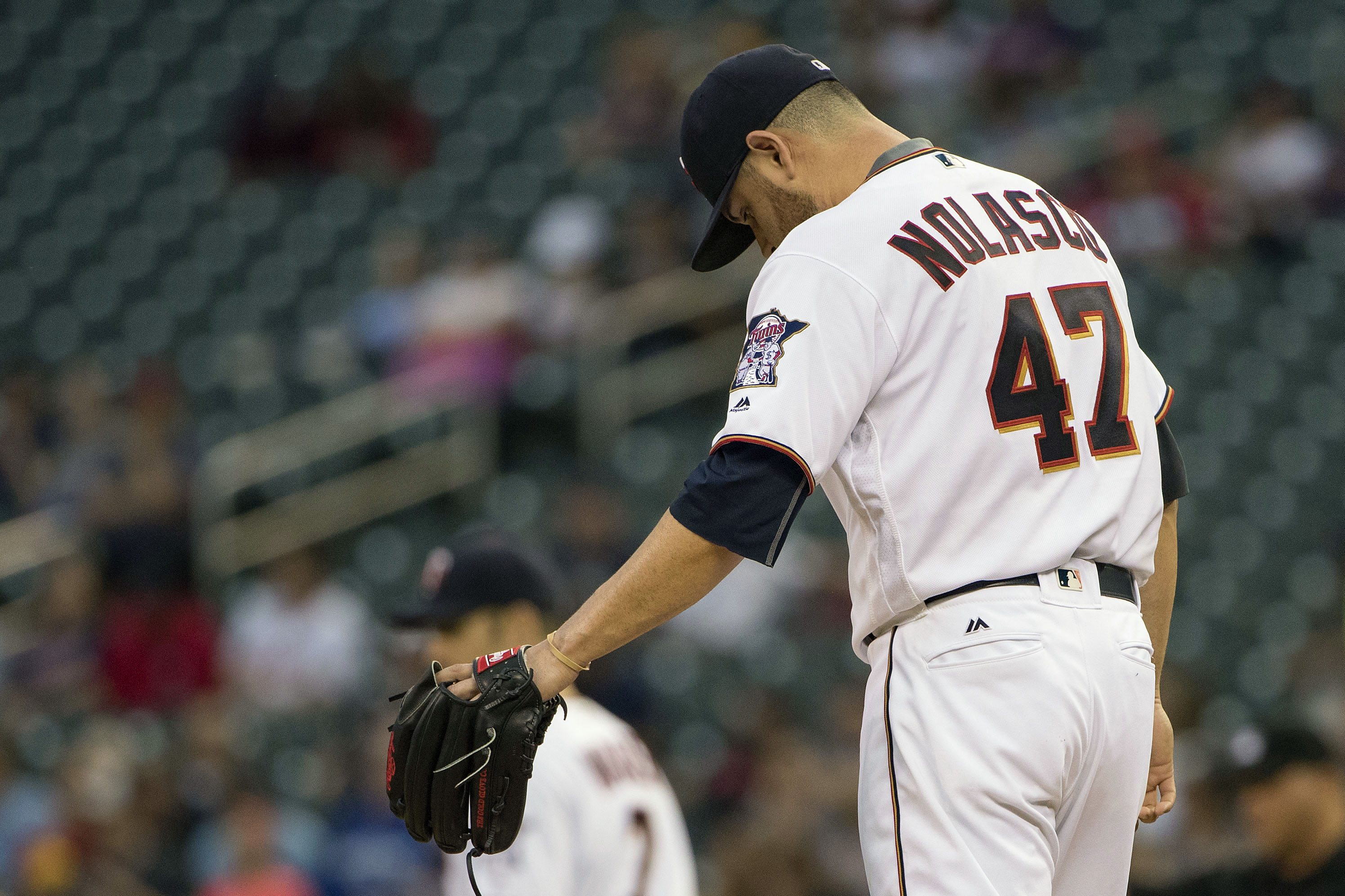 From 2014-2016, Nolasco's 5.43 ERA has under performed his 3.94 FIP by the widest margin of any starting pitcher.