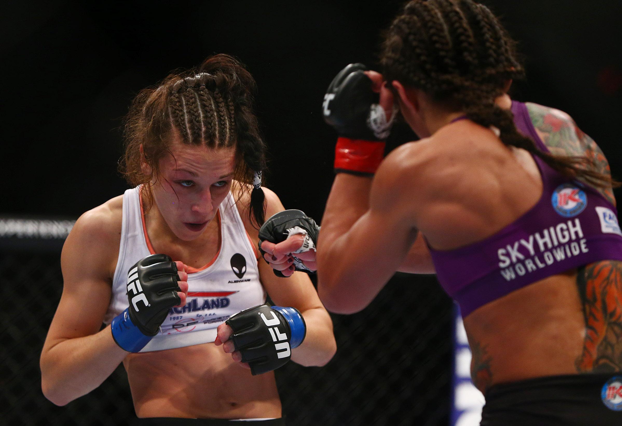 MMA: UFC Fight Night-Jedrzejczyk vs Gadelha