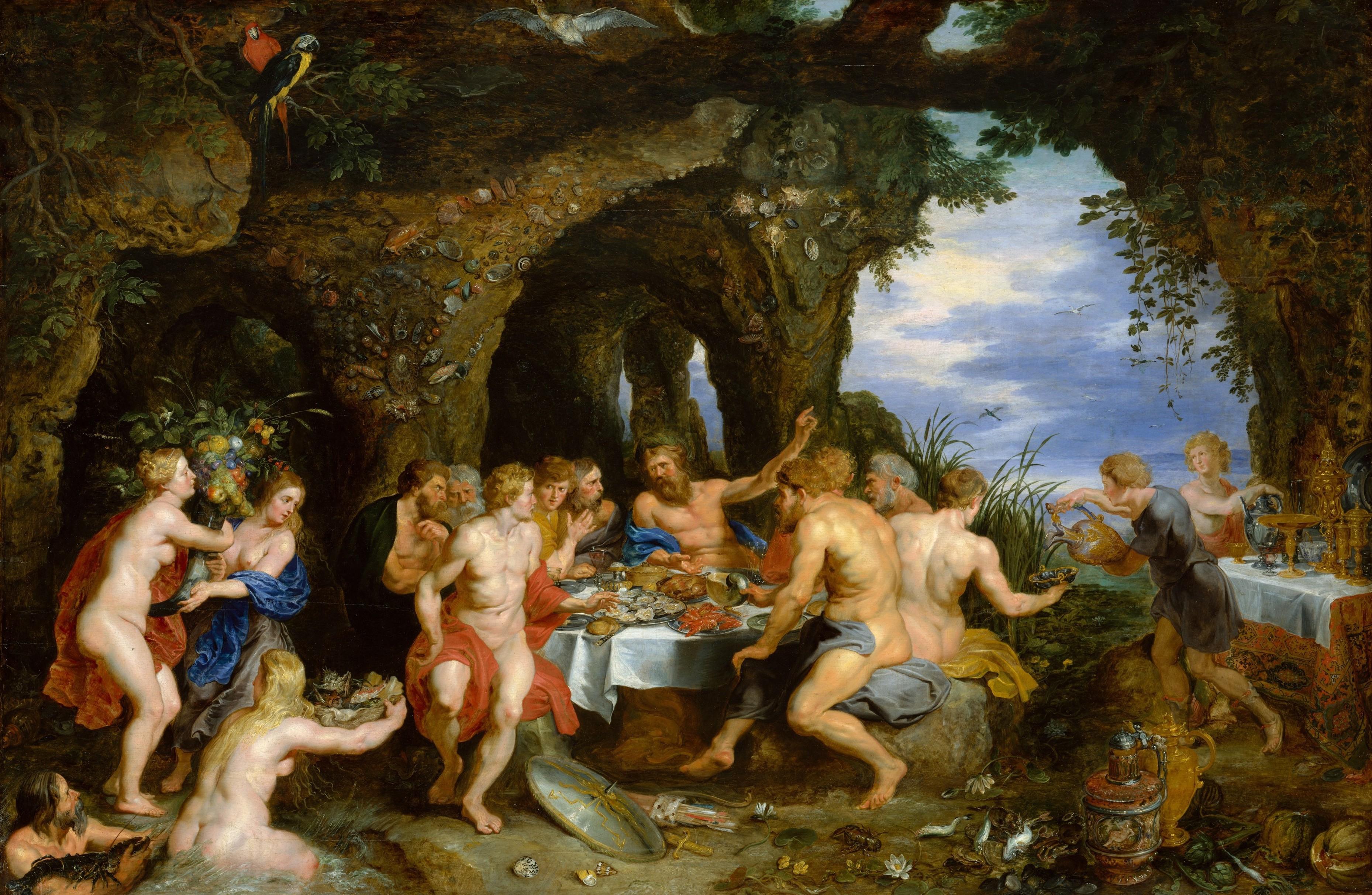 The Feast of Achelous, Rubens