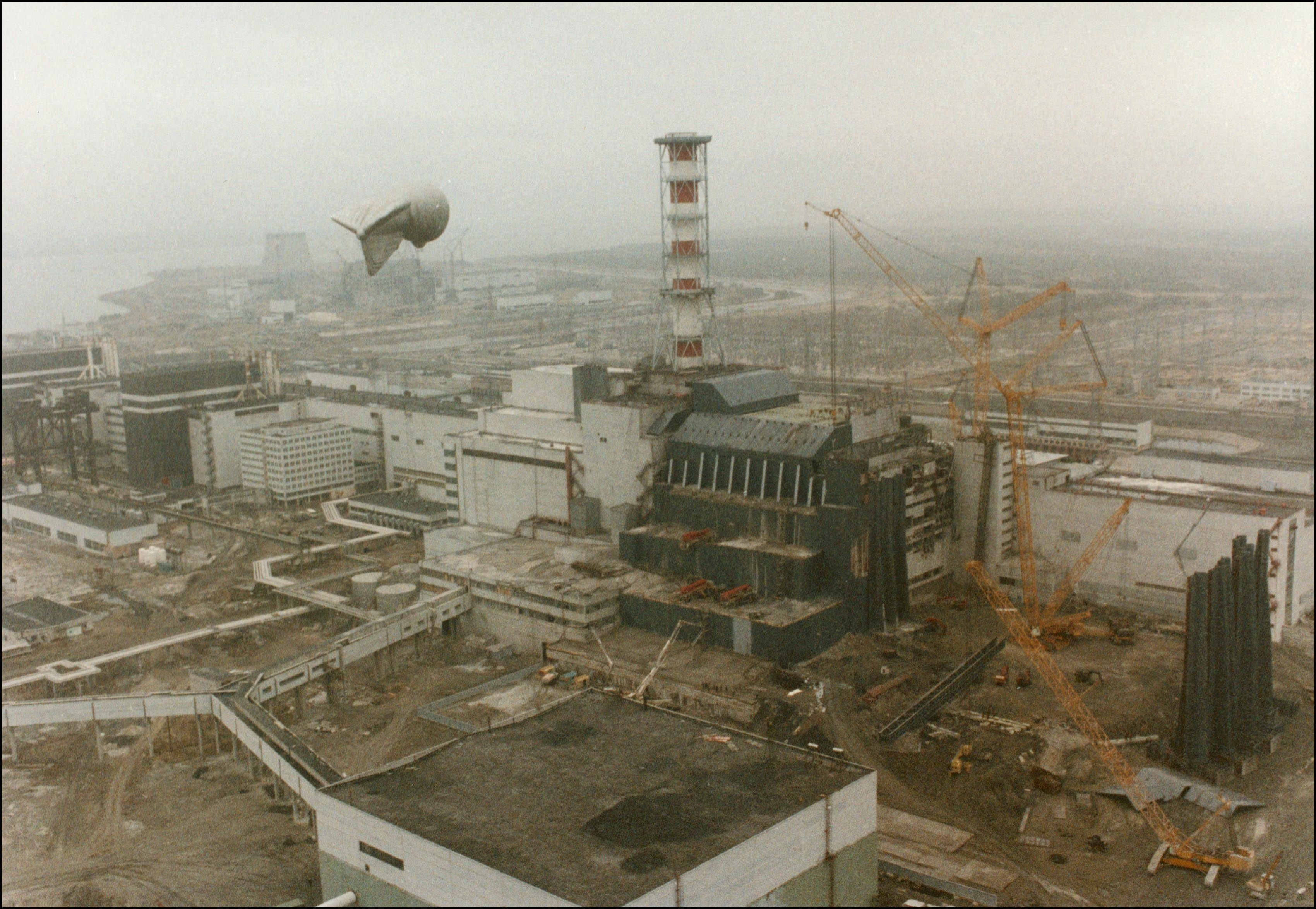 Content Dump: Chernobyl - Cover