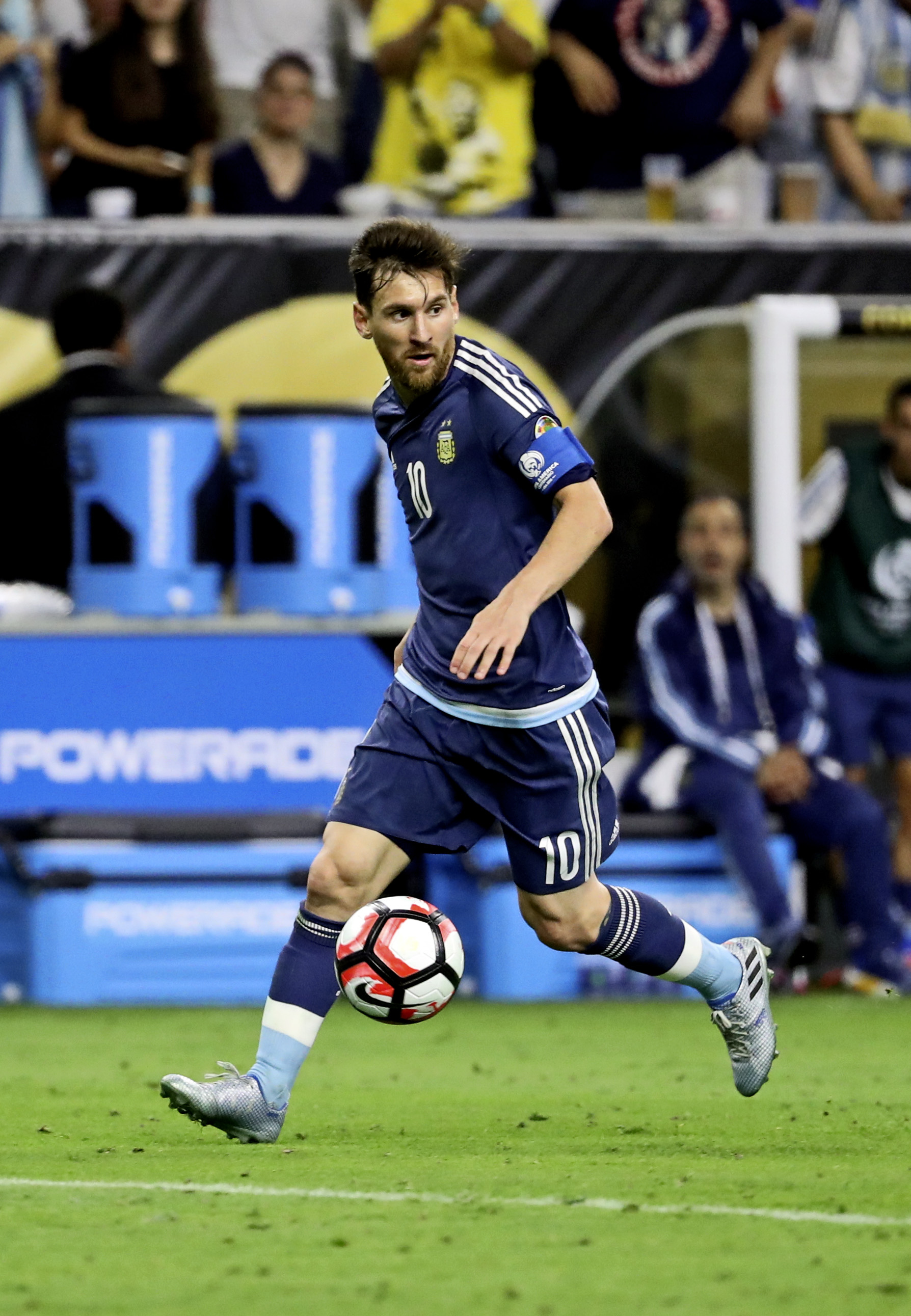 Lionel Messi could not have possibly been contained in the Copa America semifinal