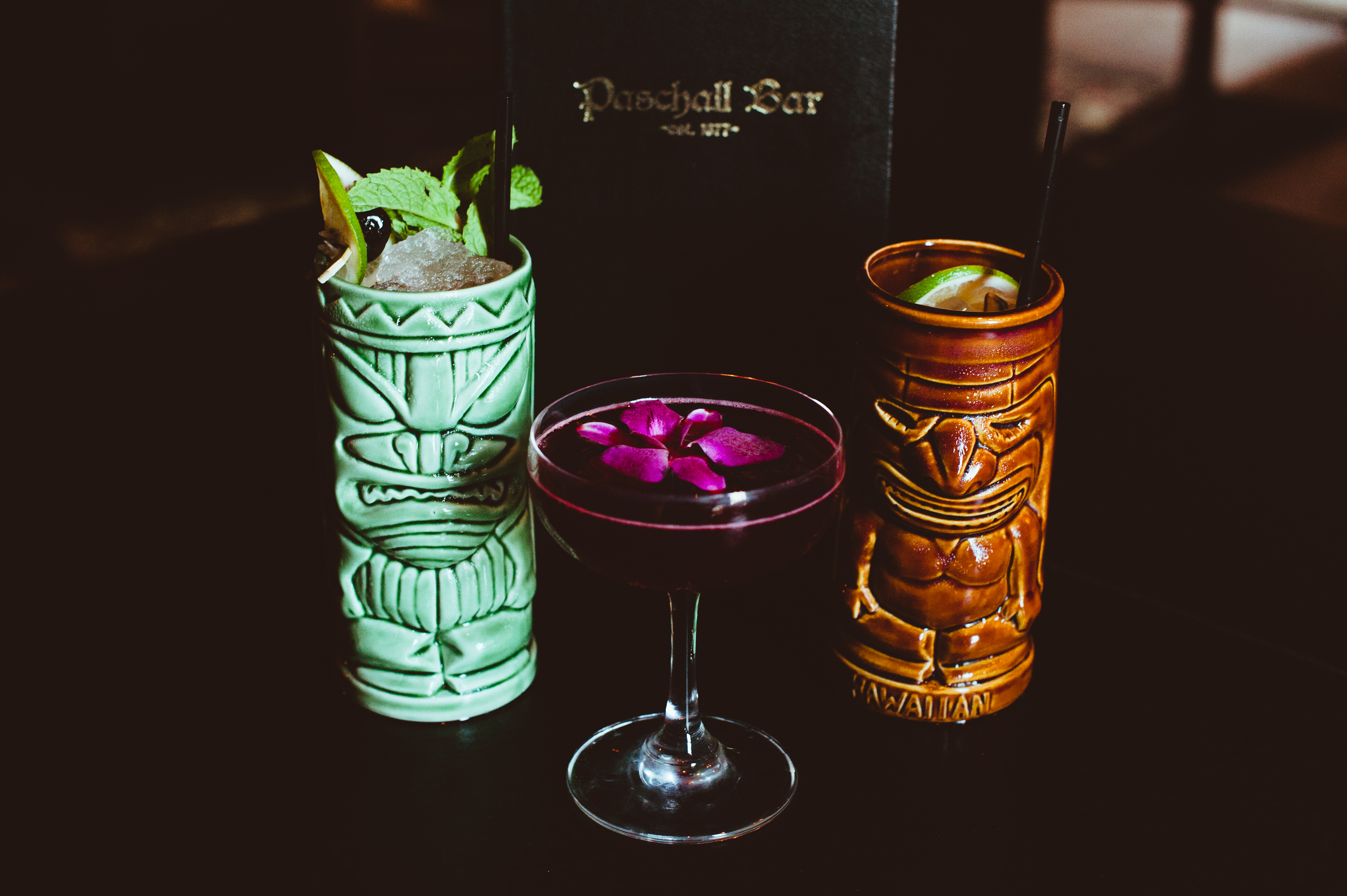 Tiki drinks are both festive and delicious